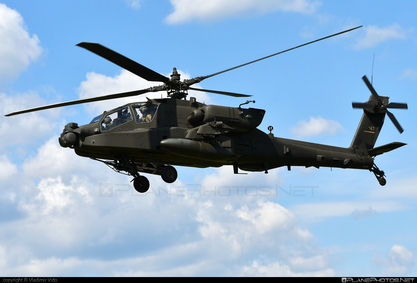 Boeing AH-64E Apache Guardian - 17-03147 operated by US Army #ah64 #ah64apache #ah64e #ah64eapache #ah64eapacheguardian #apacheguardian #boeing #siaf2019 #usarmy