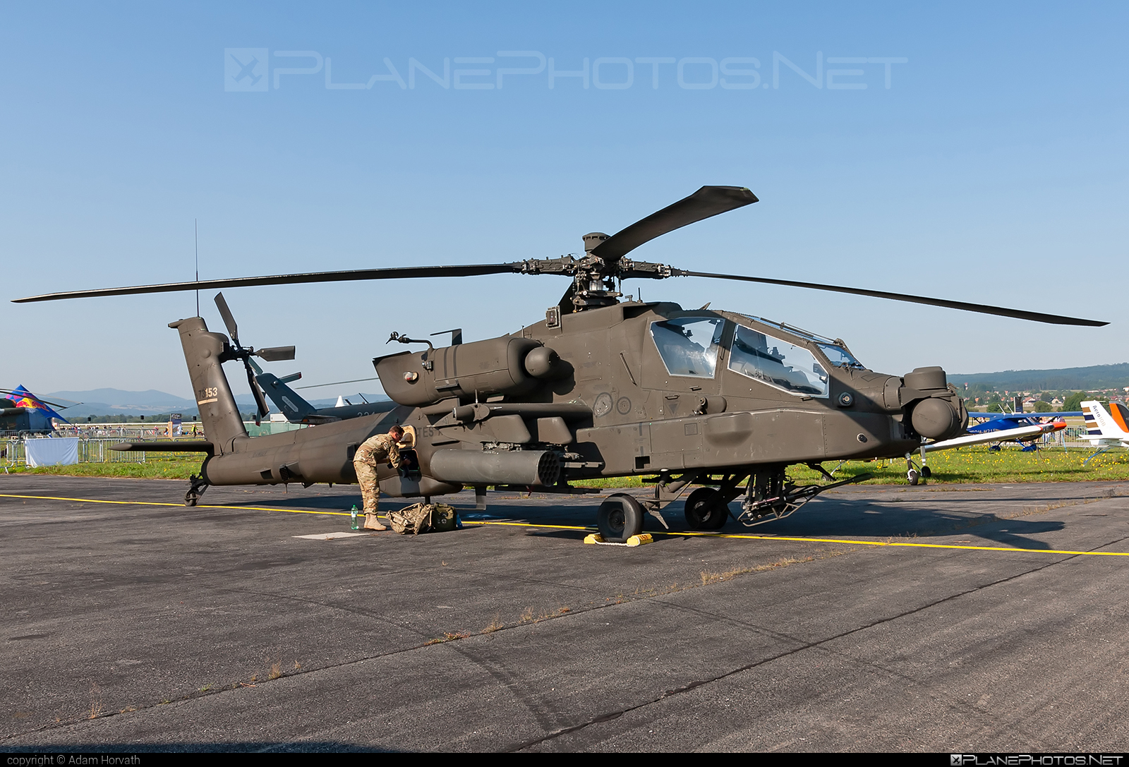 Boeing AH-64E Apache Guardian - 17-03153 operated by US Army #ah64 #ah64apache #ah64e #ah64eapache #ah64eapacheguardian #apacheguardian #boeing #siaf2019 #usarmy