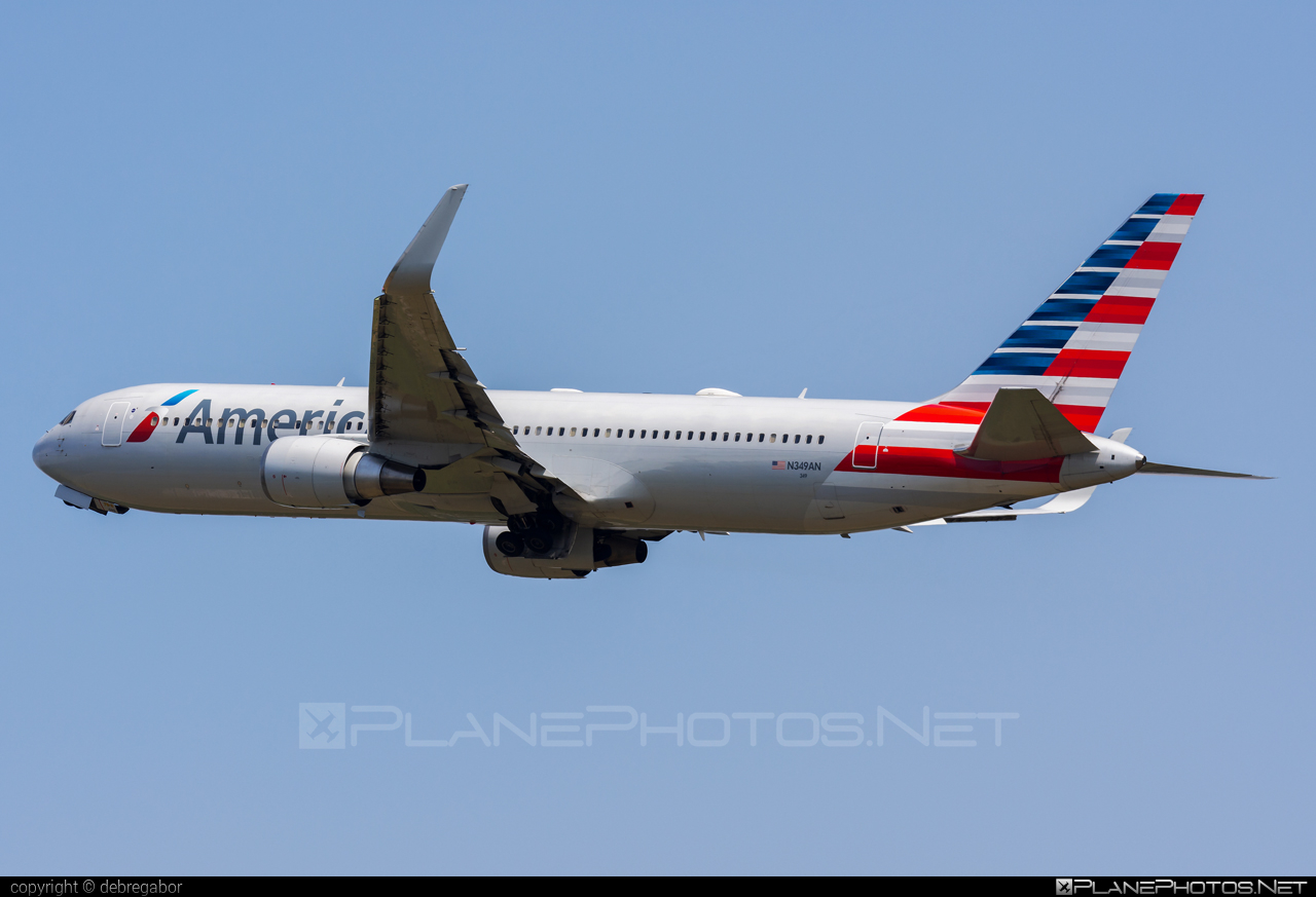 Boeing 767-300ER - N349AN operated by American Airlines #americanairlines #b767 #b767er #boeing #boeing767