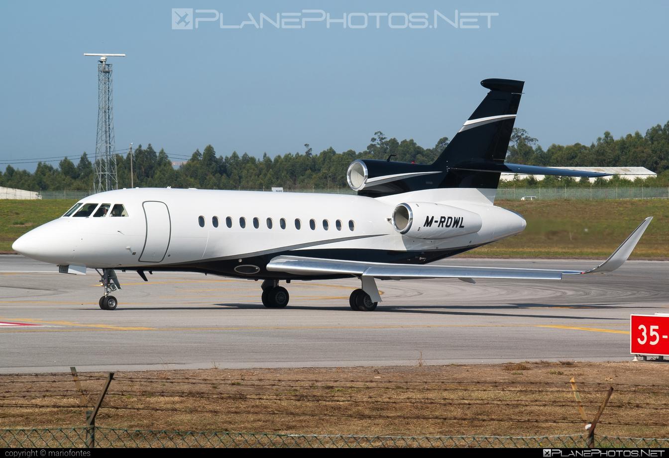 Dassault Falcon 900EX - M-ROWL operated by Private operator #dassault