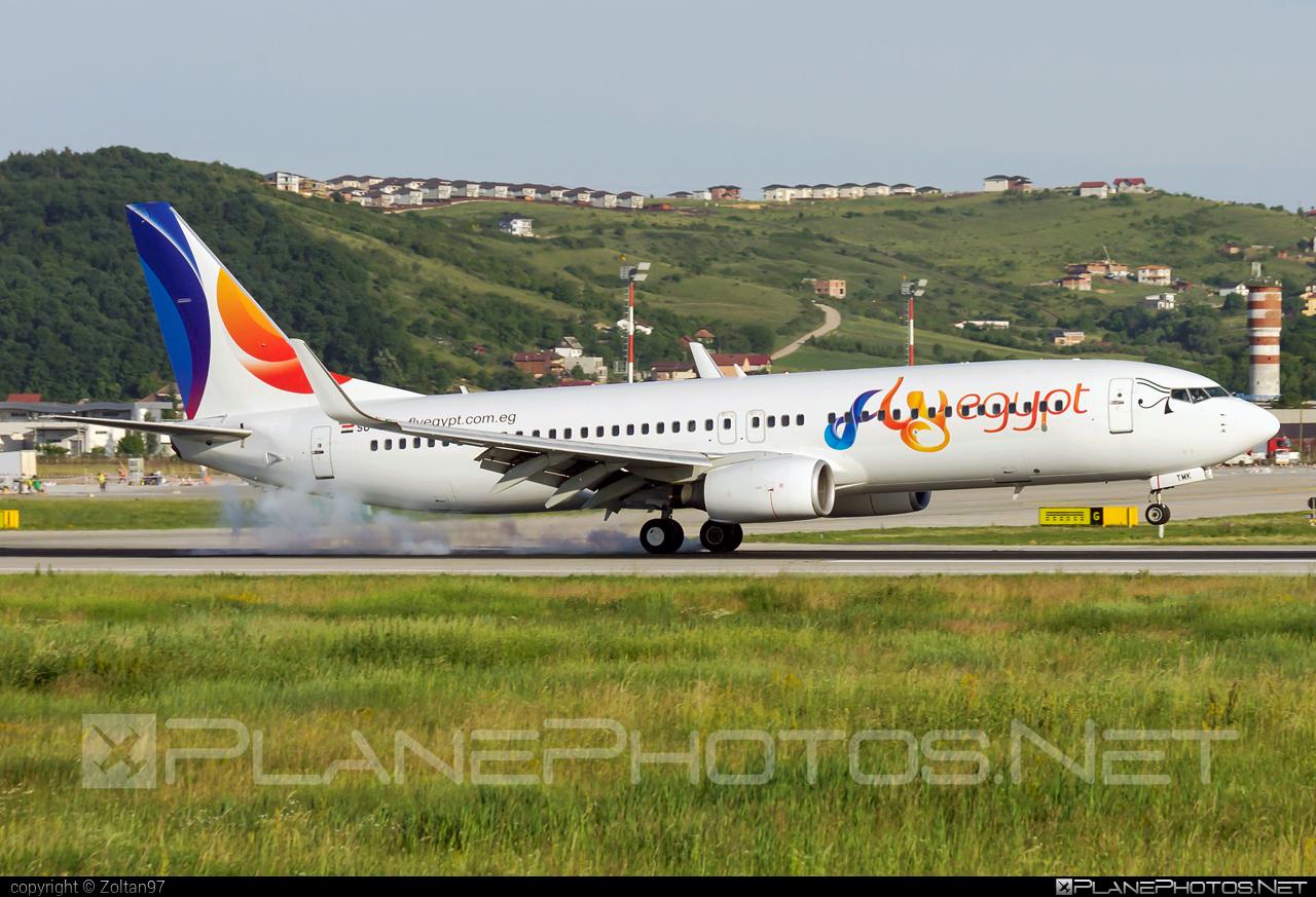 Boeing 737-800 - SU-TMK operated by FlyEgypt #b737 #b737nextgen #b737ng #boeing #boeing737