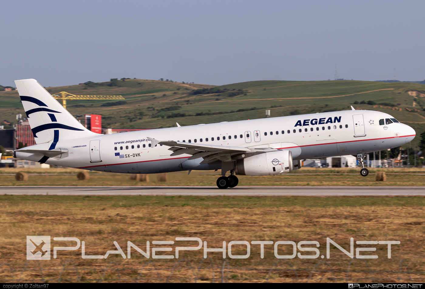 Airbus A320-232 - SX-DVK operated by Aegean Airlines #a320 #a320family #airbus #airbus320