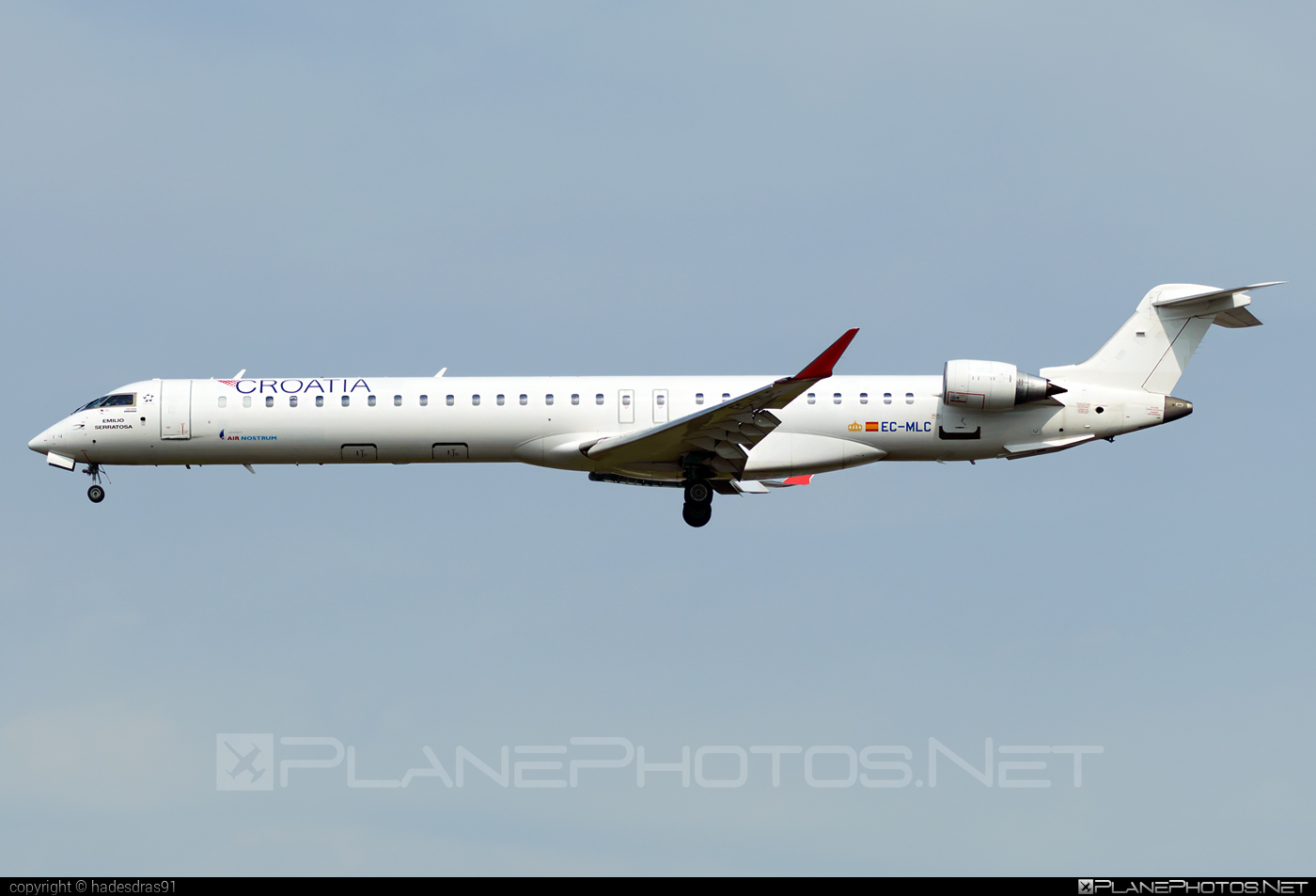 Bombardier CRJ1000 - EC-MLC operated by Air Nostrum #airnostrum #bombardier #crj1000