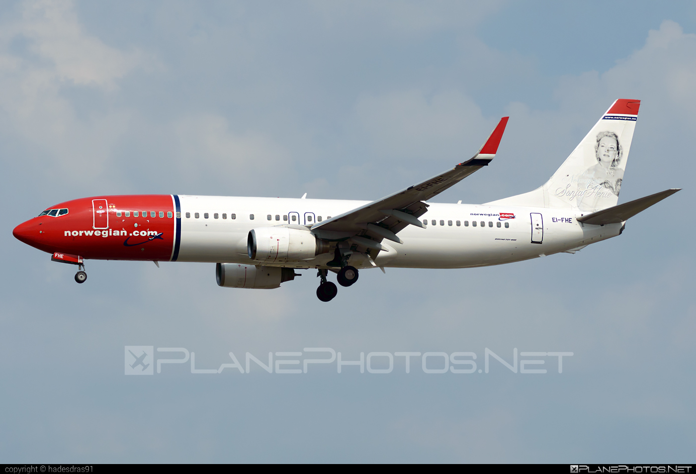 Boeing 737-800 - EI-FHE operated by Norwegian Air International #b737 #b737nextgen #b737ng #boeing #boeing737 #norwegian #norwegianair #norwegianairinternational