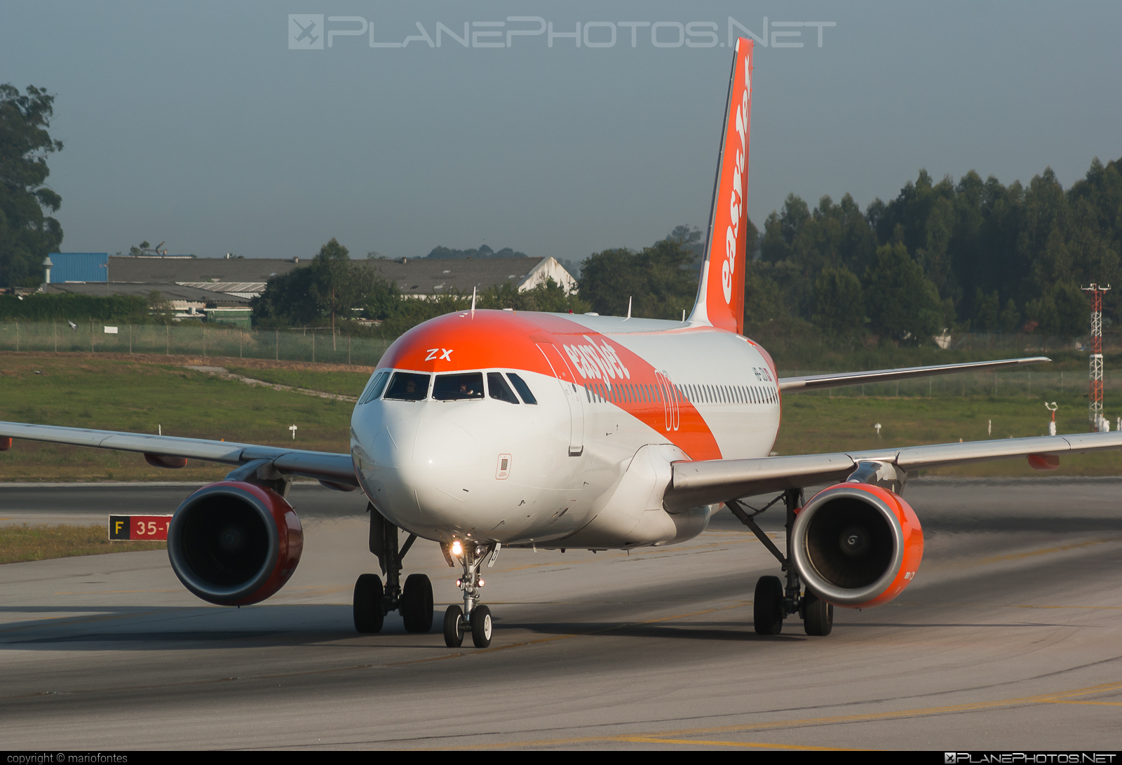 Airbus A320-214 - HB-JZX operated by easyJet Switzerland #a320 #a320family #airbus #airbus320 #easyjet #easyjetswitzerland