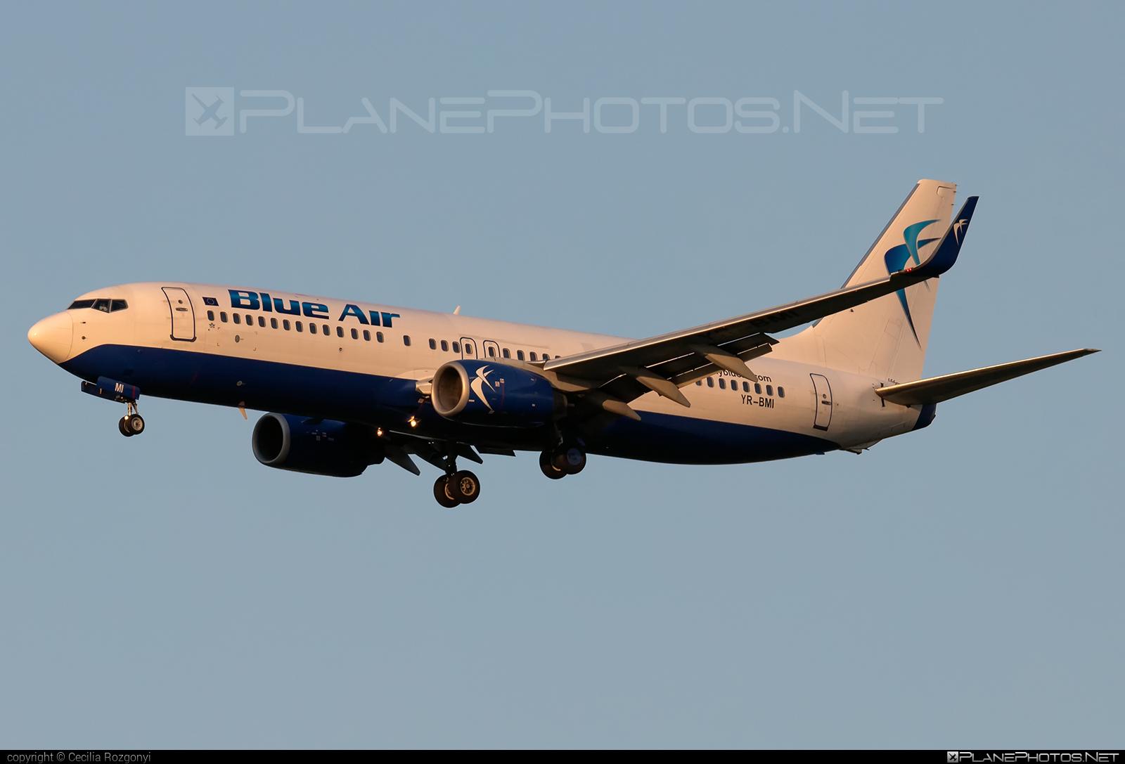 Boeing 737-800 - YR-BMI operated by Blue Air #b737 #b737nextgen #b737ng #boeing #boeing737