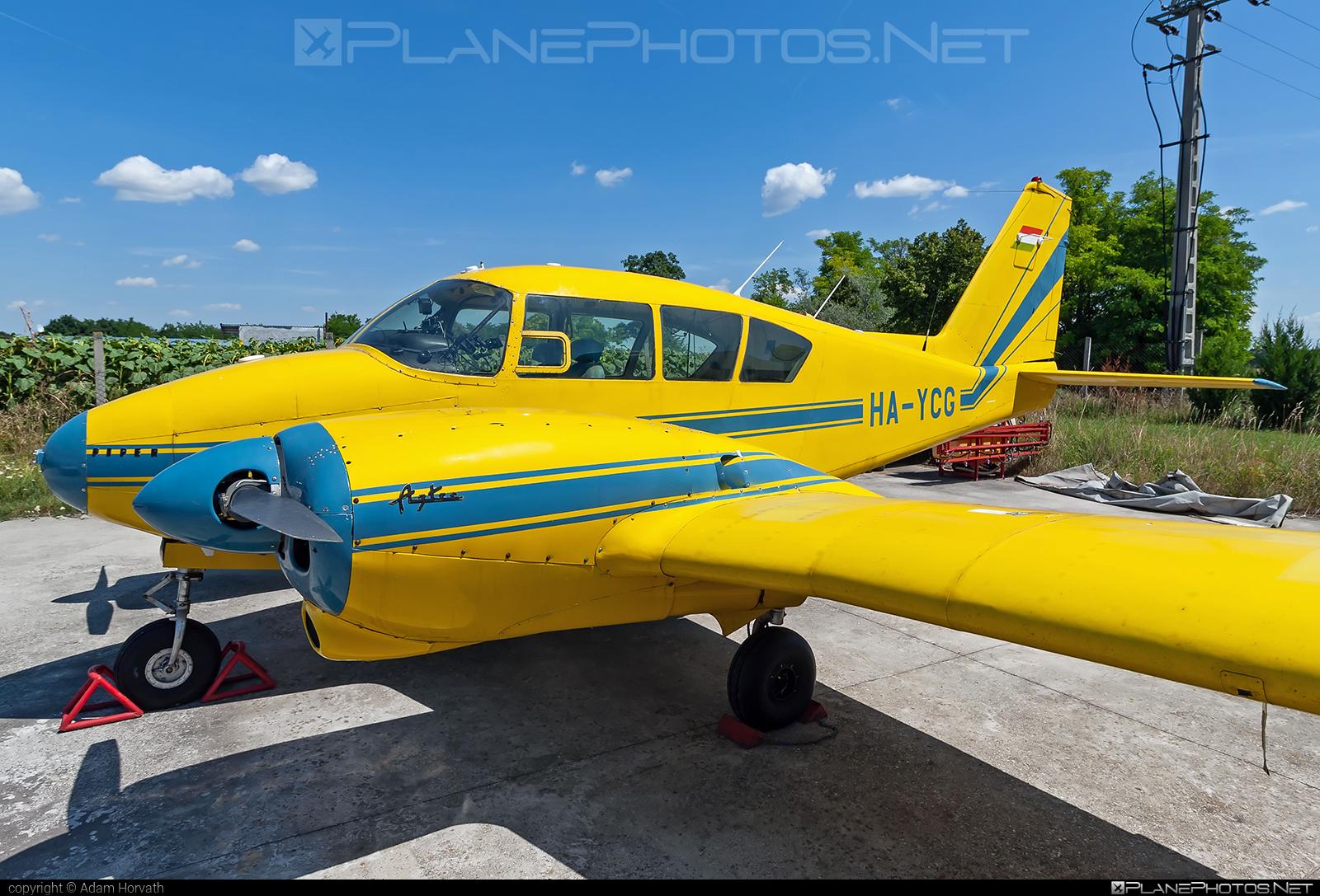 Piper PA-23-250 Aztec - HA-YCG operated by Aero Média Kft. #aeromediakft #piper