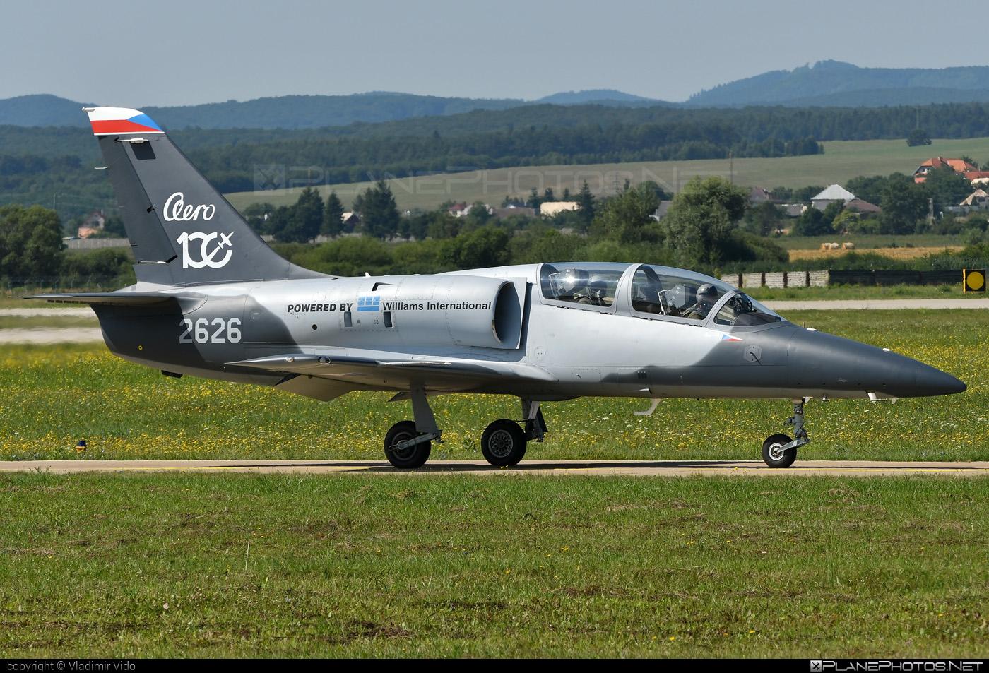 Aero L-39CW Albatros - 2626 operated by Aero Vodochody #aero #aerol39 #aerol39albatros #aerol39cwalbatros #aerovodochody #albatros #l39 #l39cw #l39cwalbatros #siaf2019