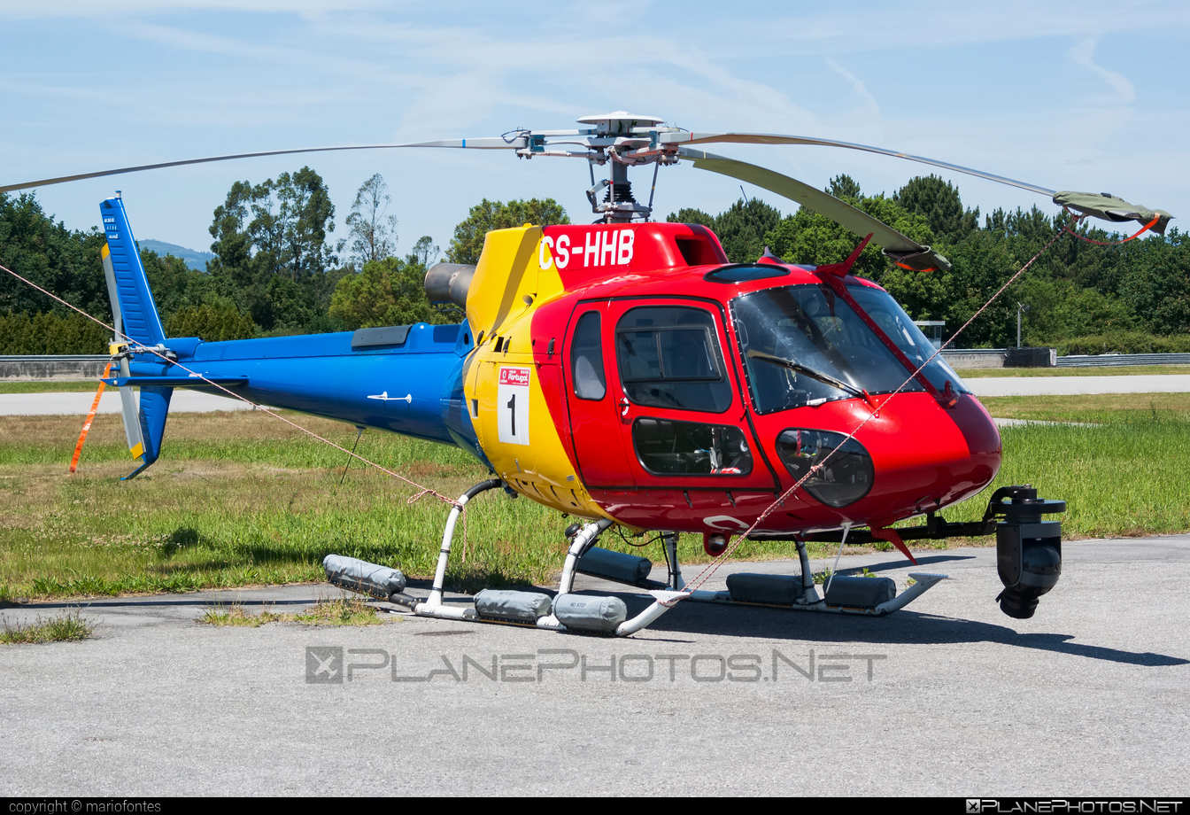 Eurocopter AS350 B3 Ecureuil - CS-HHB operated by HTA Helicópteros #eurocopter #htahelicopteros