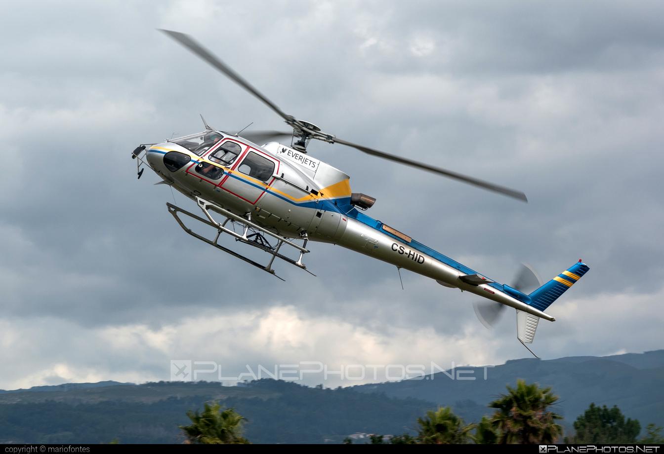 Eurocopter AS350 B3 Ecureuil - CS-HID operated by Everjets - Aviação Executiva, S.A. #eurocopter #everjets