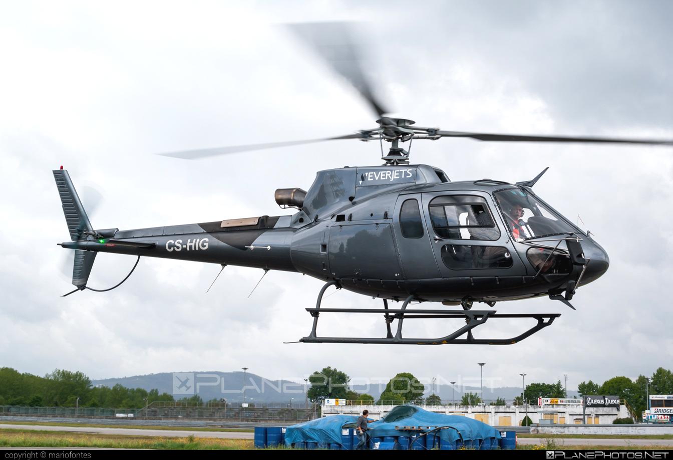Eurocopter AS350 B3 Ecureuil - CS-HIG operated by Everjets - Aviação Executiva, S.A. #eurocopter #everjets