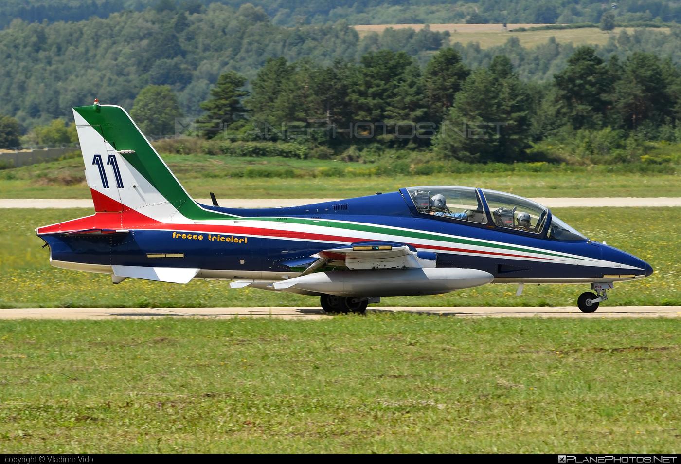 Aermacchi MB-339-A/PAN - MM55052 operated by Aeronautica Militare (Italian Air Force) #aermacchi #aermacchi339 #aermacchimb339 #aermacchimb339apan #mb339 #mb339apan #siaf2019