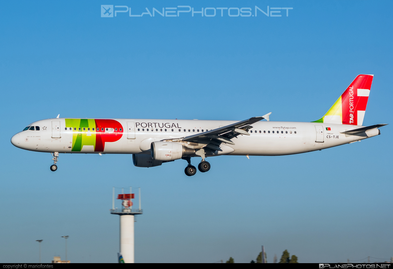 Airbus A321-211 - CS-TJE operated by TAP Portugal #a320family #a321 #airbus #airbus321