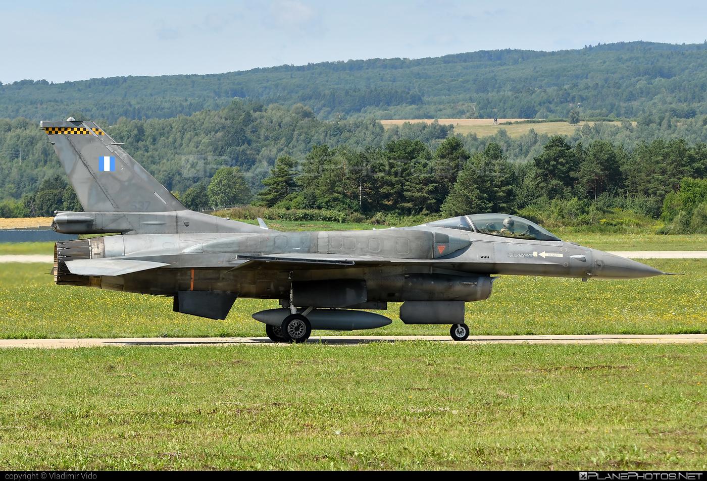 Lockheed Martin F-16CJ Fighting Falcon - 537 operated by Polemikí Aeroporía (Hellenic Air Force) #f16 #f16cj #fightingfalcon #hellenicairforce #lockheedmartin #polemikiaeroporia #siaf2019