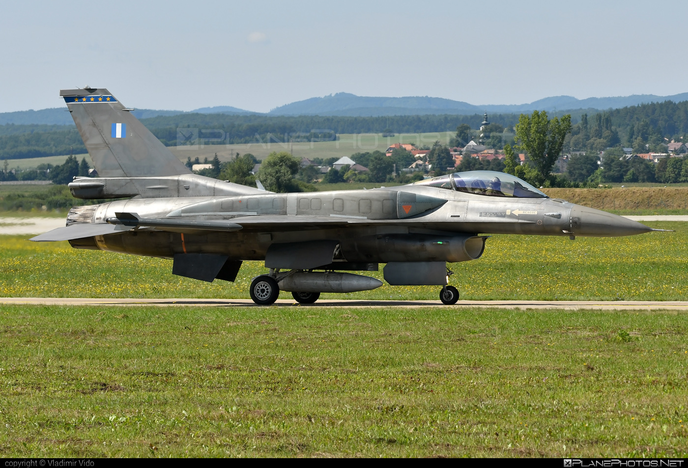 Lockheed Martin F-16CJ Fighting Falcon - 506 operated by Polemikí Aeroporía (Hellenic Air Force) #f16 #f16cj #fightingfalcon #hellenicairforce #lockheedmartin #polemikiaeroporia