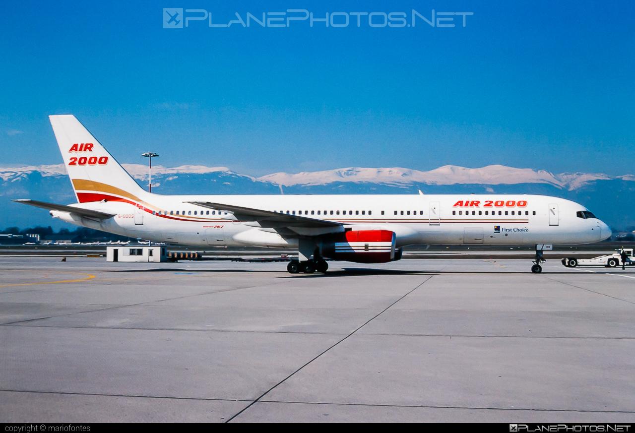 Boeing 757-200 - G-OOOS operated by Air 2000 #b757 #boeing #boeing757