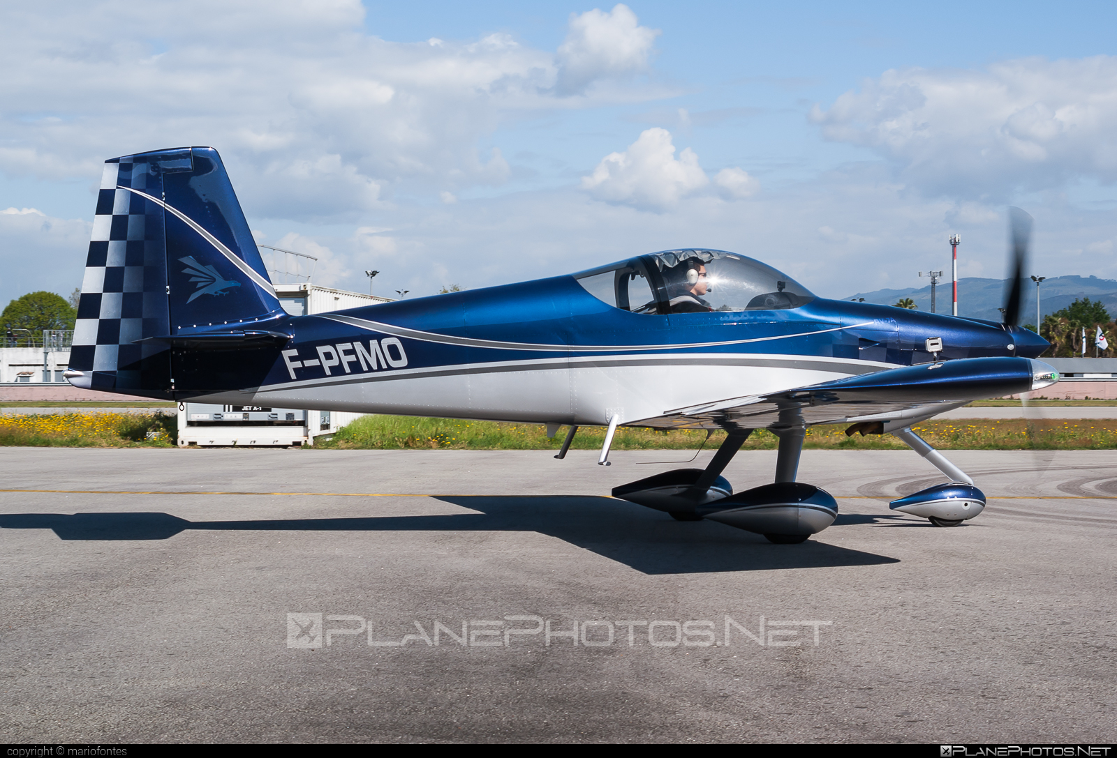Van`s Aircraft RV-7A - F-PFMO operated by Private operator #vansaircraft