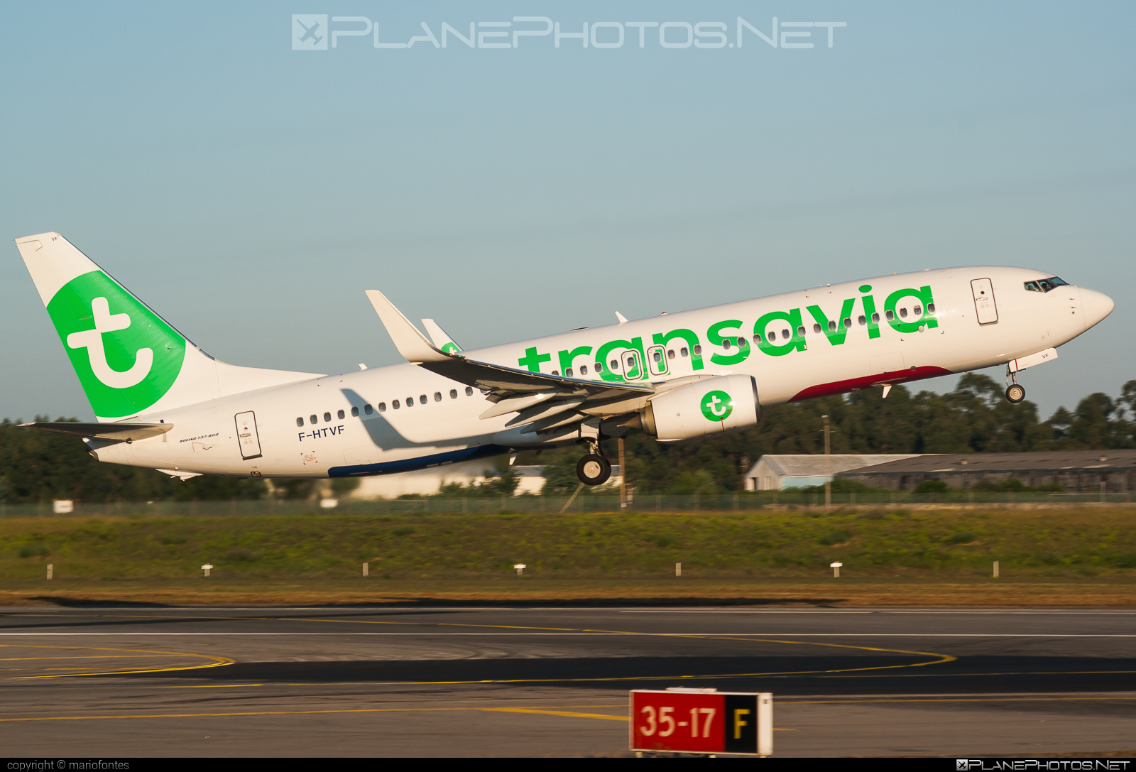 Boeing 737-800 - F-HTVF operated by Transavia France #b737 #b737nextgen #b737ng #boeing #boeing737