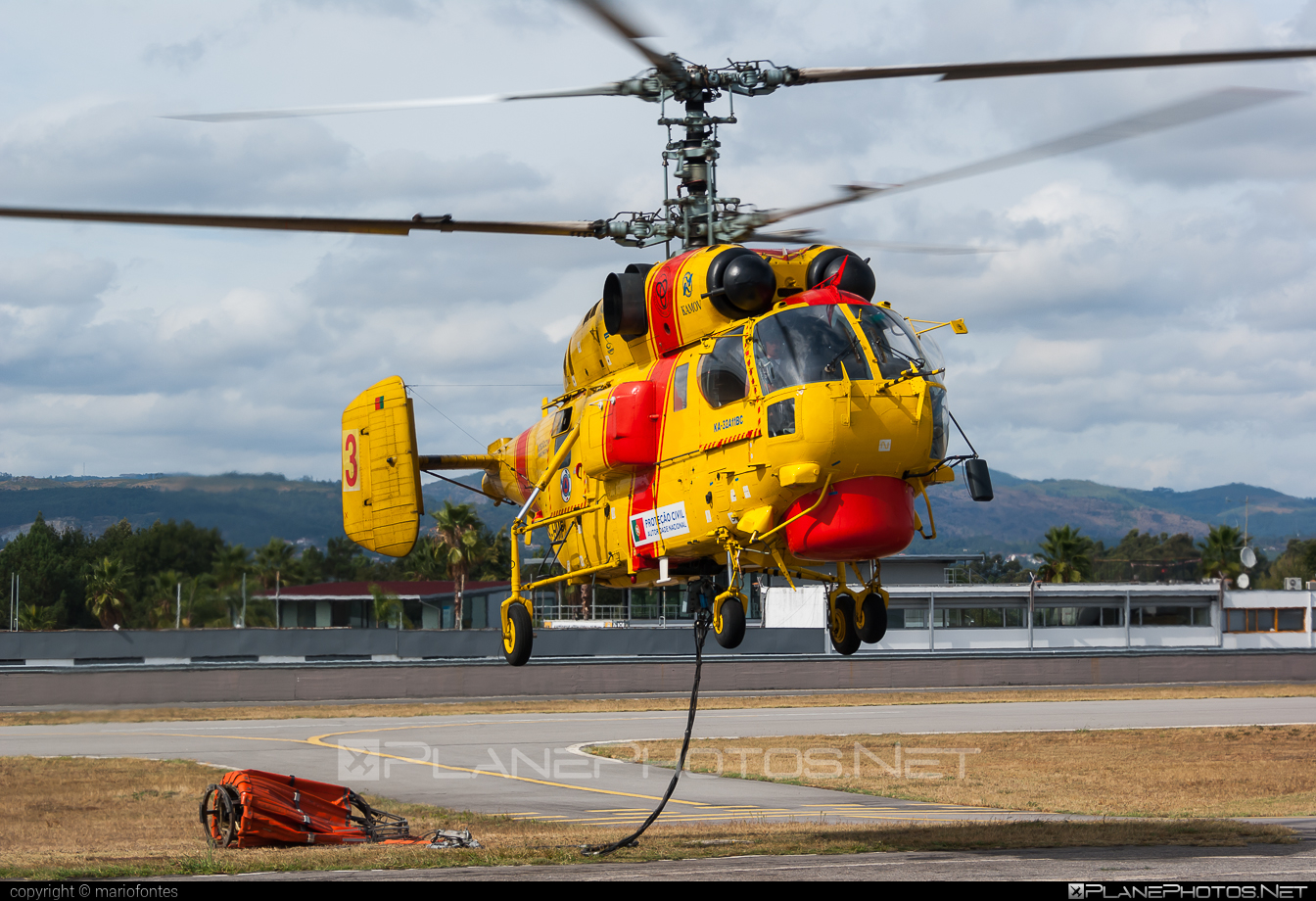 Kamov Ka-32A11BC - CS-HMP operated by Proteção Civil (Portugal Civil Protection) #ka32 #ka32a11bc #kamov #kamov32 #kamovka32 #portugalcivilprotection #protecaocivil