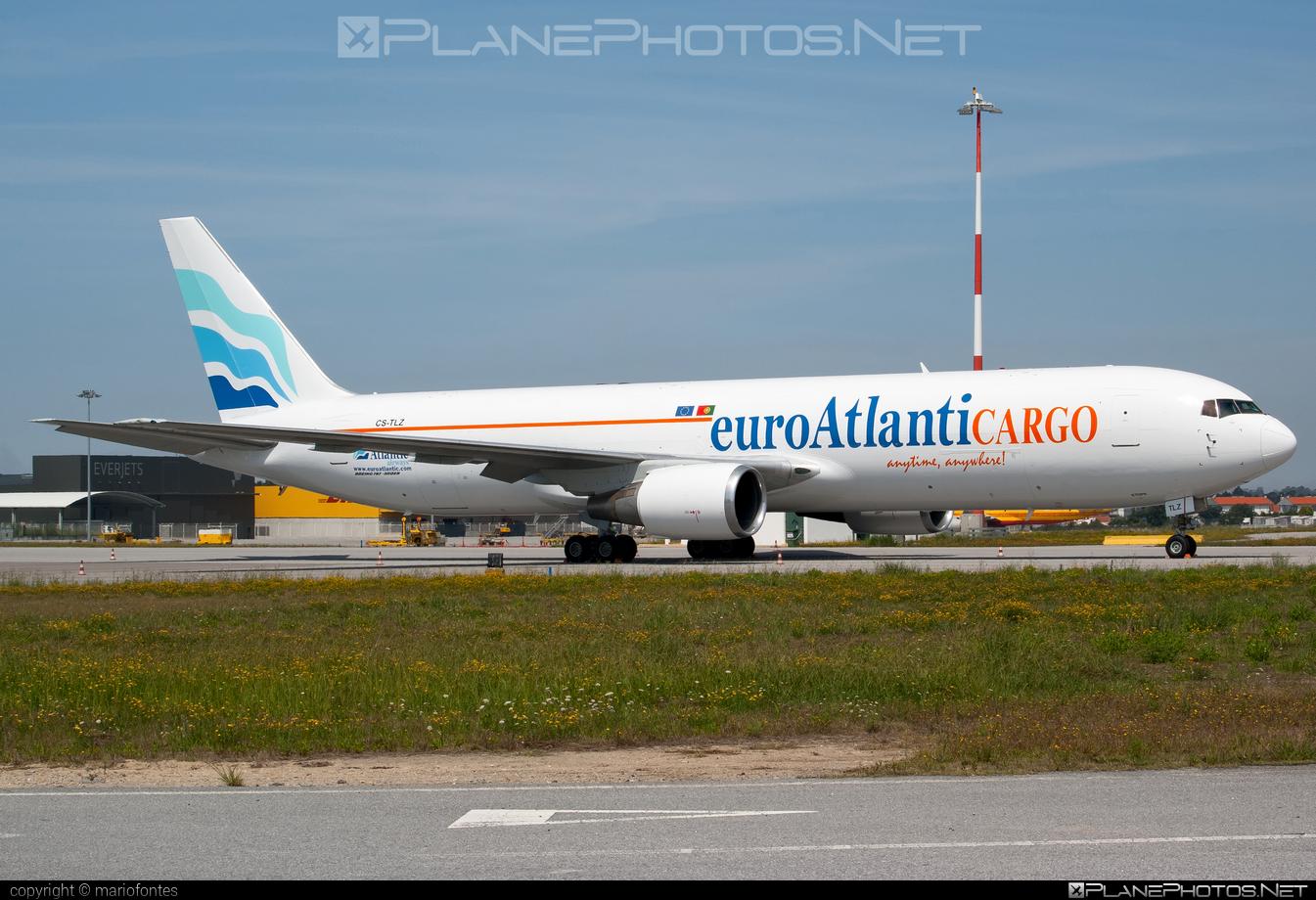 Boeing 767-300BDSF - CS-TLZ operated by EuroAtlantic Airways #b767 #b767300bdsf #b767bdsf #bedekspecialfreighter #boeing #boeing767 #euroatlantic #euroatlanticairways