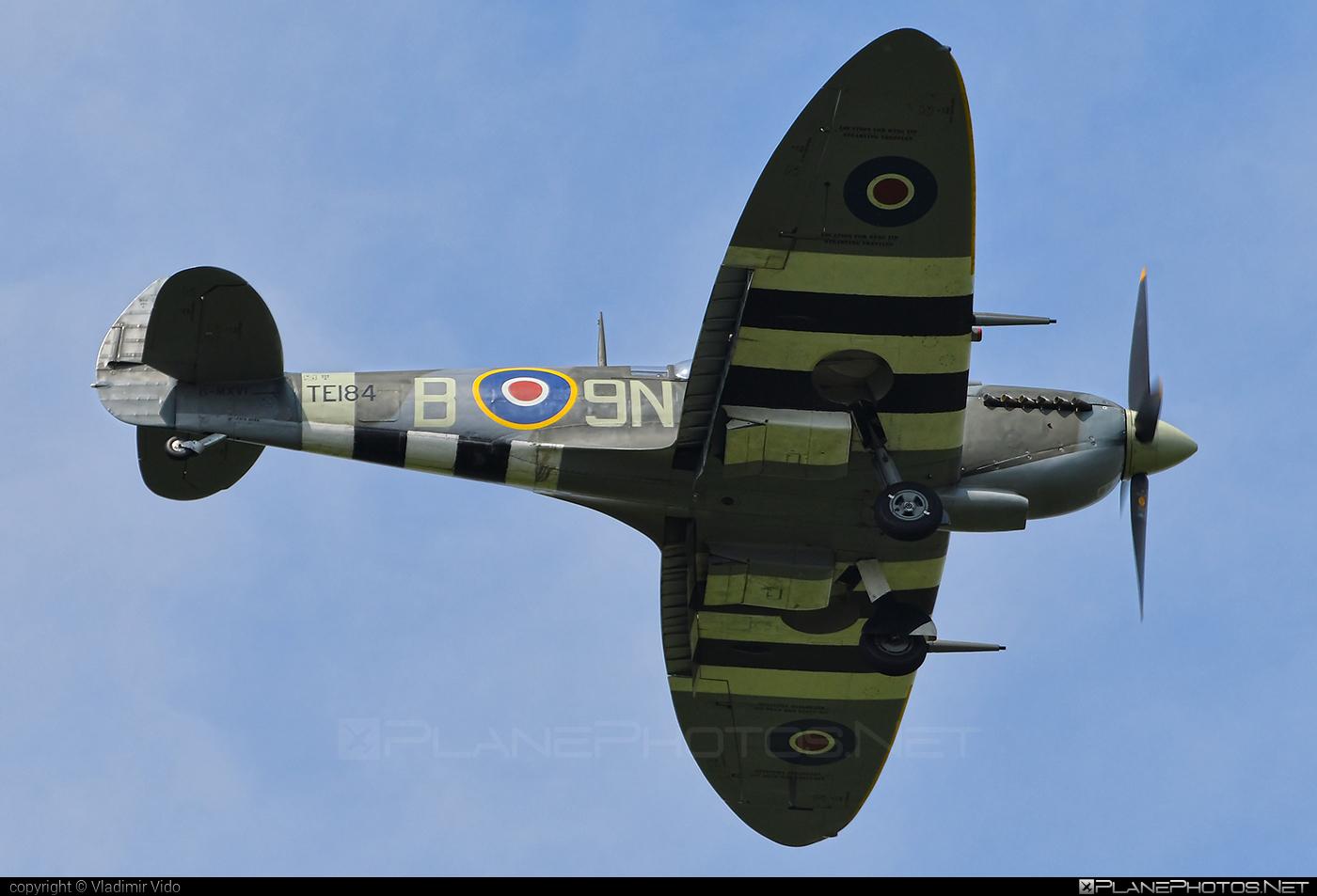 Supermarine Spitfire LF Mk.XVIe - G-MXVI operated by Private operator #siaf2019 #spitfire #spitfirelfmkxvie #supermarine