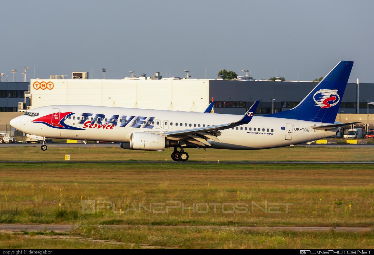 Boeing 737-800 - OK-TSE operated by Travel Service #b737 #b737nextgen #b737ng #boeing #boeing737 #travelservice