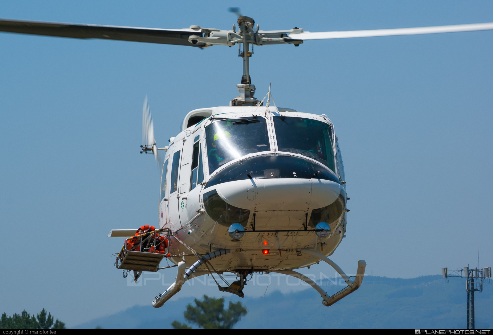 Bell 212 - D-HARZ operated by Helog #bell #bell212 #bellhelicopters