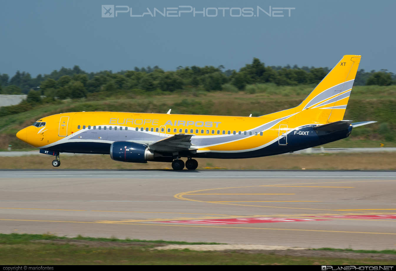 Boeing 737-300QC - F-GIXT operated by Europe Airpost #b737 #b737qc #boeing #boeing737
