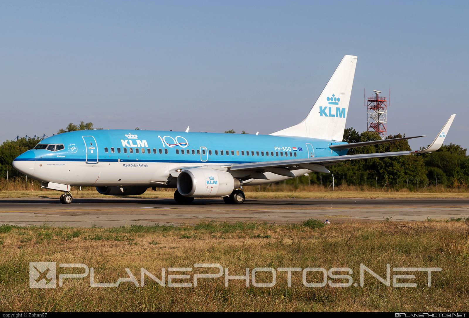 Boeing 737-700 - PH-BGQ operated by KLM Royal Dutch Airlines #b737 #b737nextgen #b737ng #boeing #boeing737 #klm #klmroyaldutchairlines #royaldutchairlines