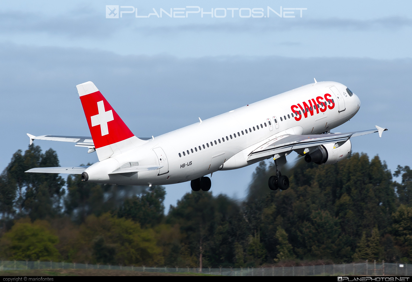 Airbus A320-214 - HB-IJS operated by Swiss International Air Lines #a320 #a320family #airbus #airbus320 #swiss #swissairlines