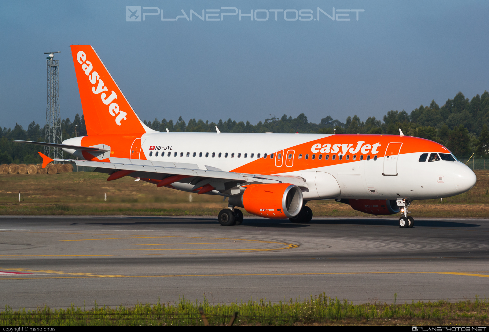 Airbus A319-111 - HB-JYL operated by easyJet Switzerland #a319 #a320family #airbus #airbus319 #easyjet #easyjetswitzerland