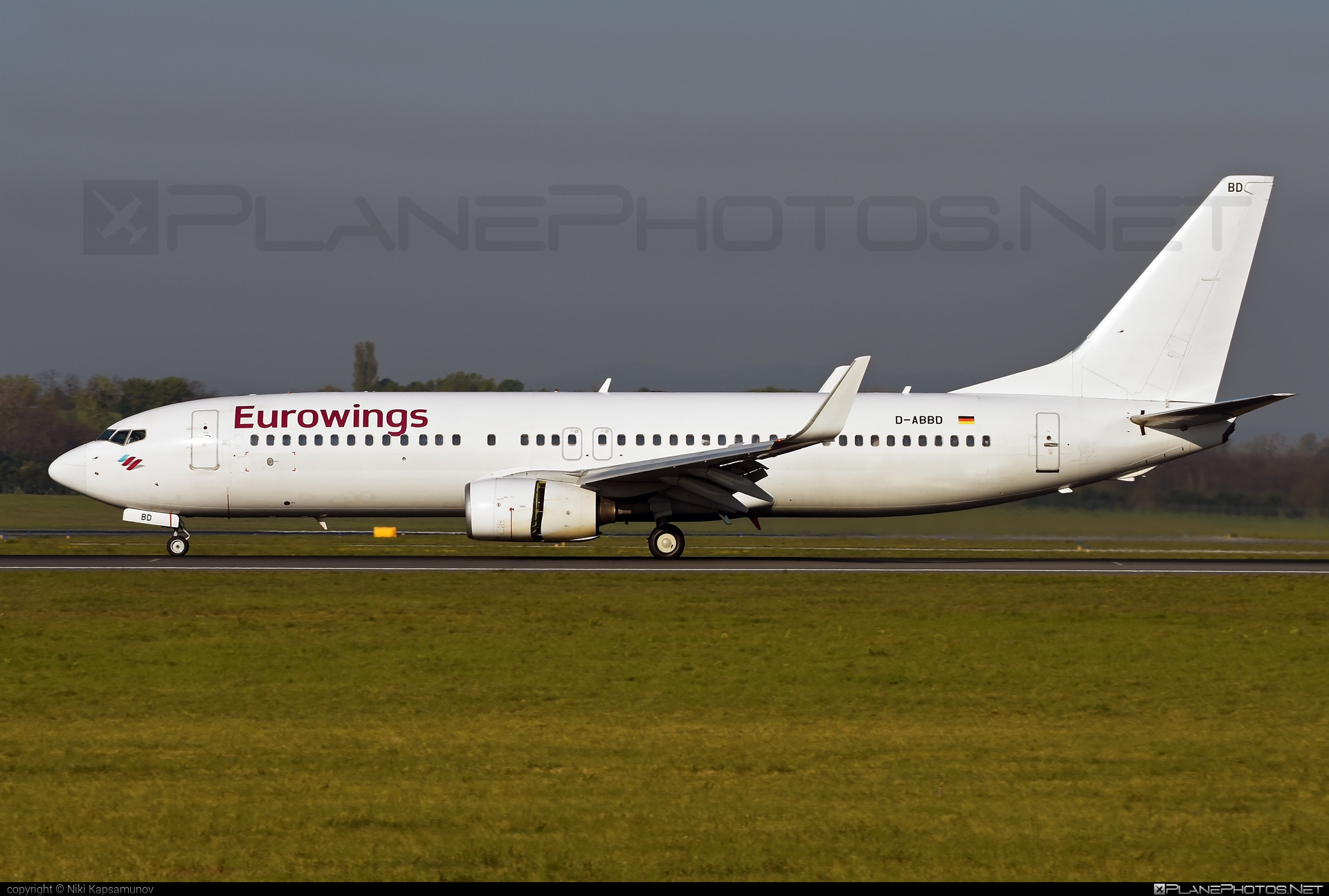 Boeing 737-800 - D-ABBD operated by Eurowings #b737 #b737nextgen #b737ng #boeing #boeing737 #eurowings