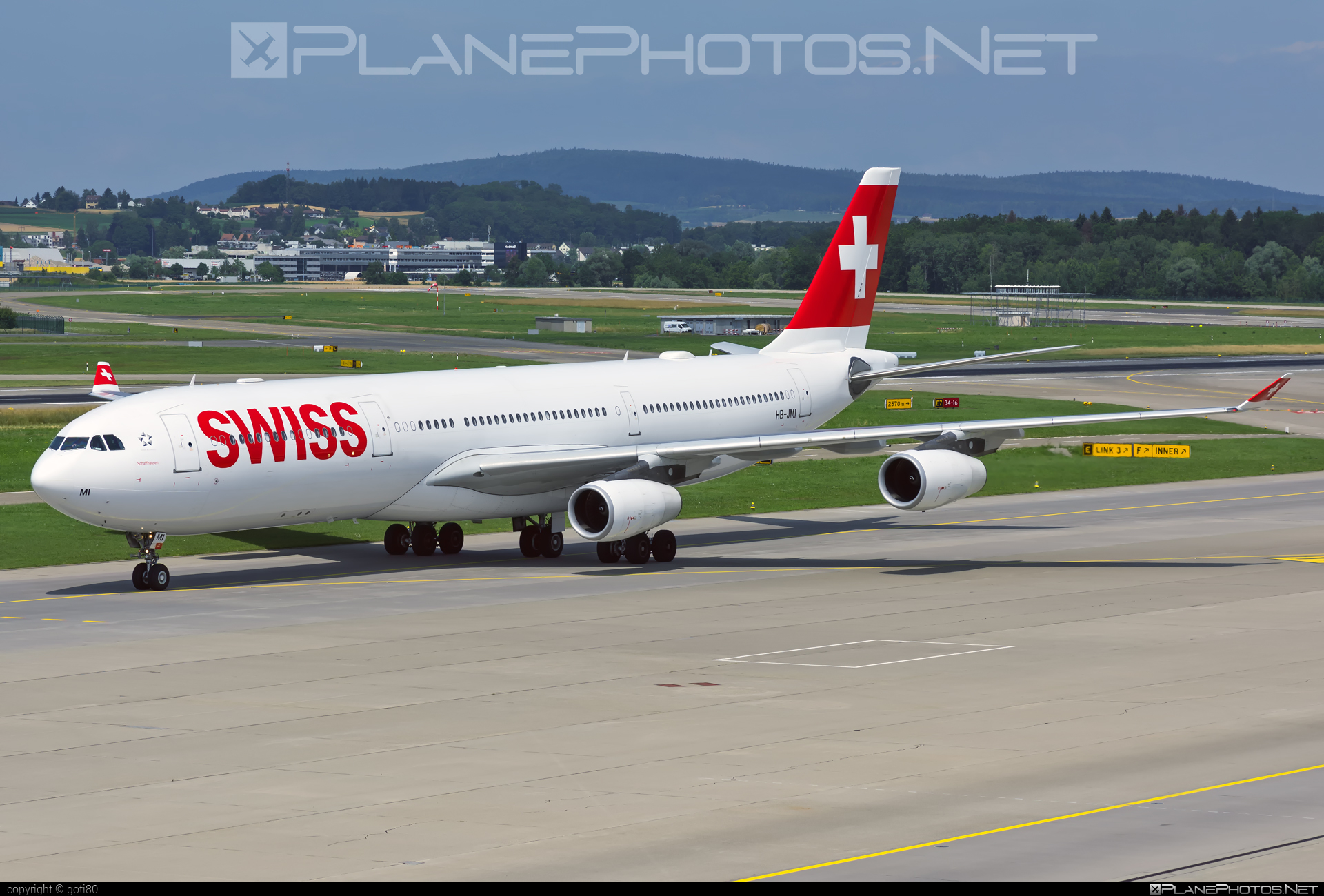 Airbus A340-313 - HB-JMI operated by Swiss International Air Lines #a340 #a340family #airbus #airbus340 #swiss #swissairlines