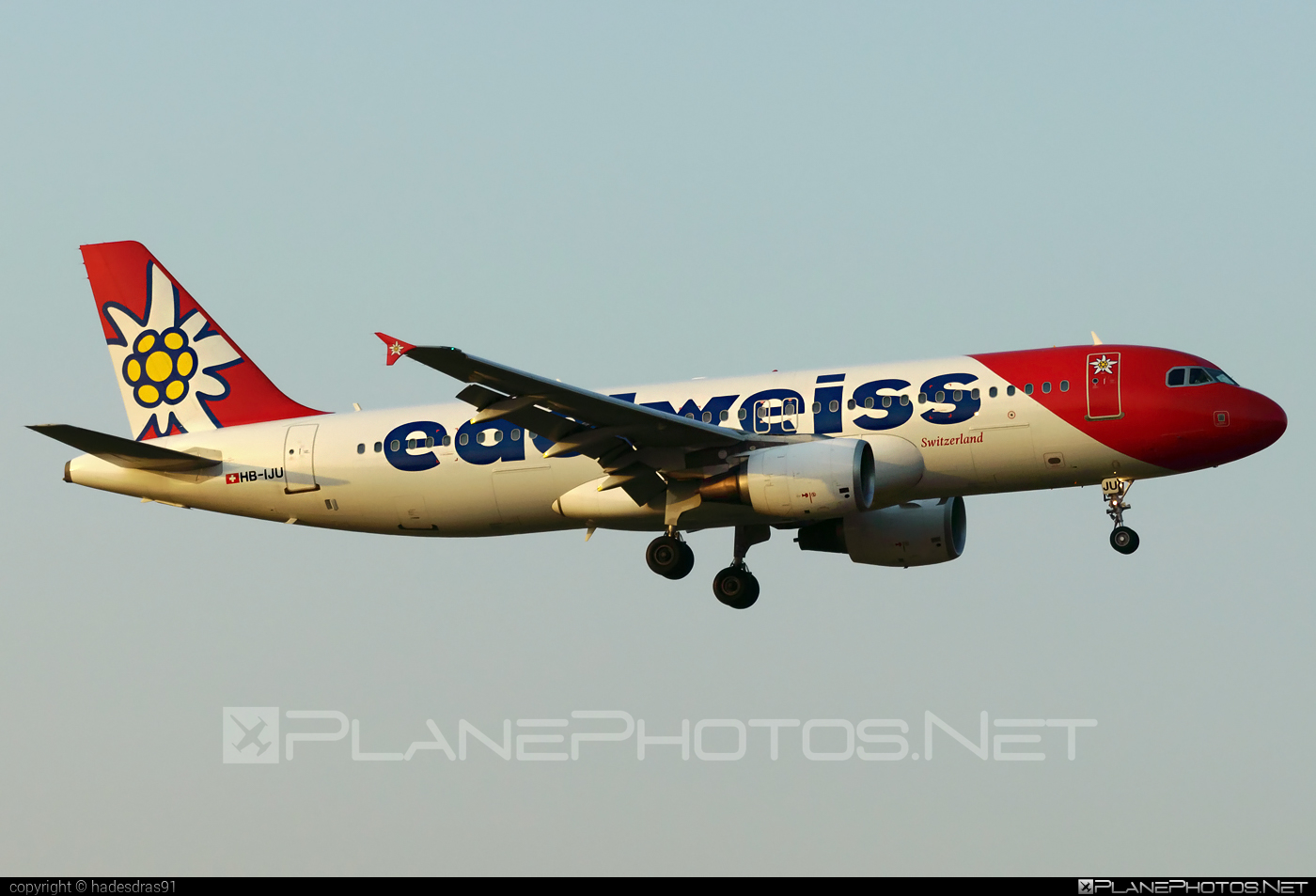 Airbus A320-214 - HB-IJU operated by Edelweiss Air #a320 #a320family #airbus #airbus320