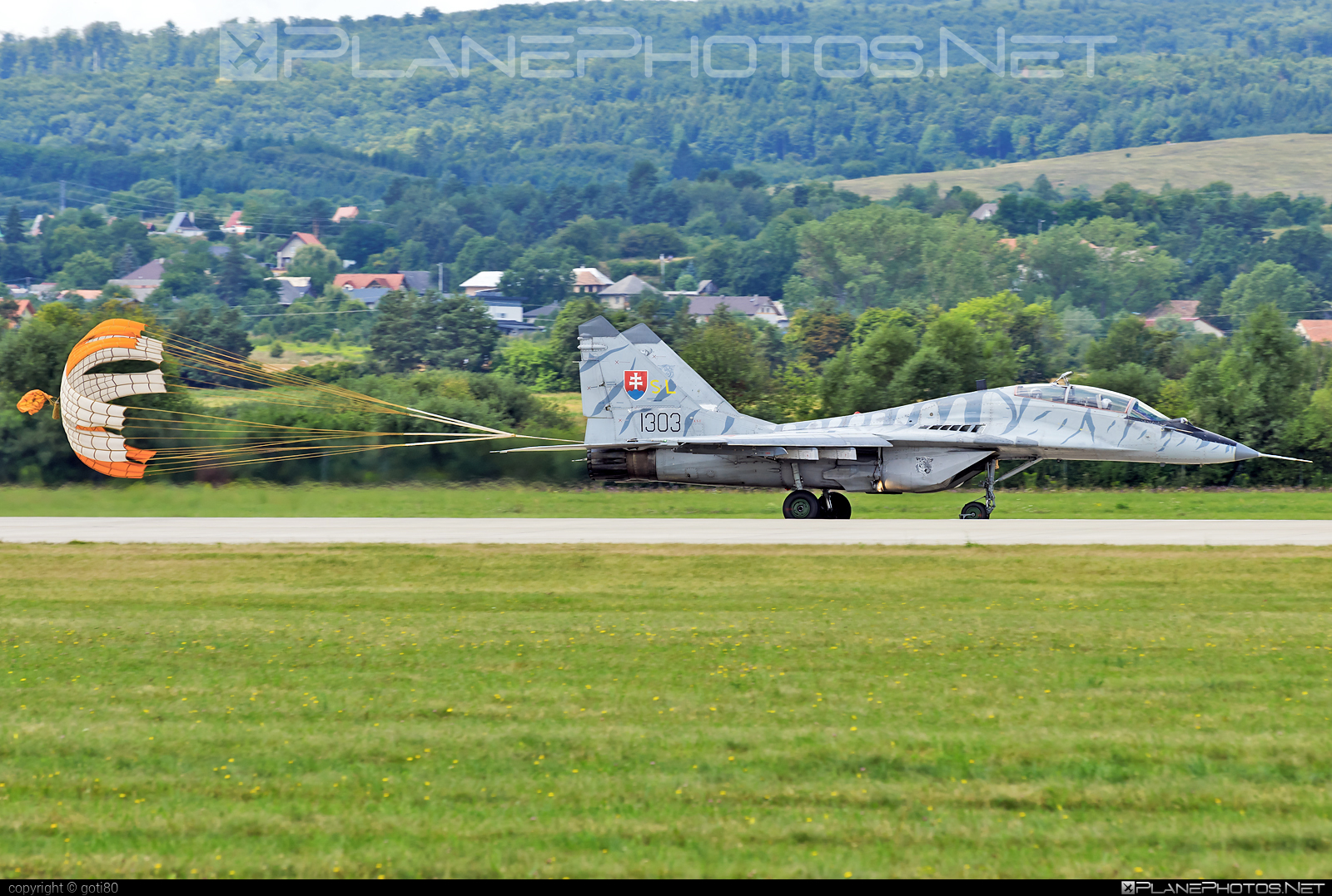 Mikoyan-Gurevich MiG-29UBS - 1303 operated by Vzdušné sily OS SR (Slovak Air Force) #mig #mig29 #mig29ubs #mikoyangurevich #siaf2019 #slovakairforce #vzdusnesilyossr