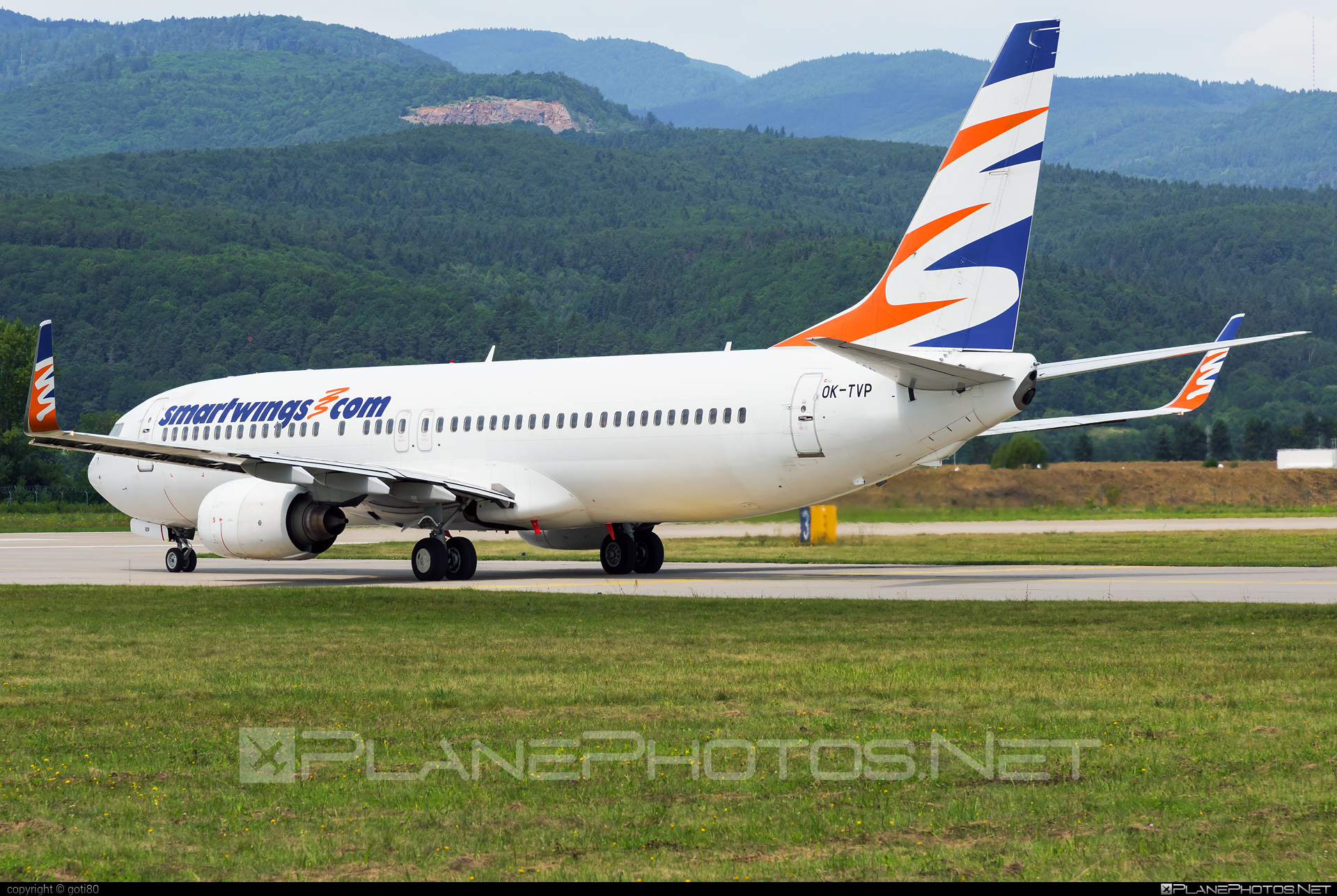 Boeing 737-800 - OK-TVP operated by Travel Service #b737 #b737nextgen #b737ng #boeing #boeing737 #travelservice