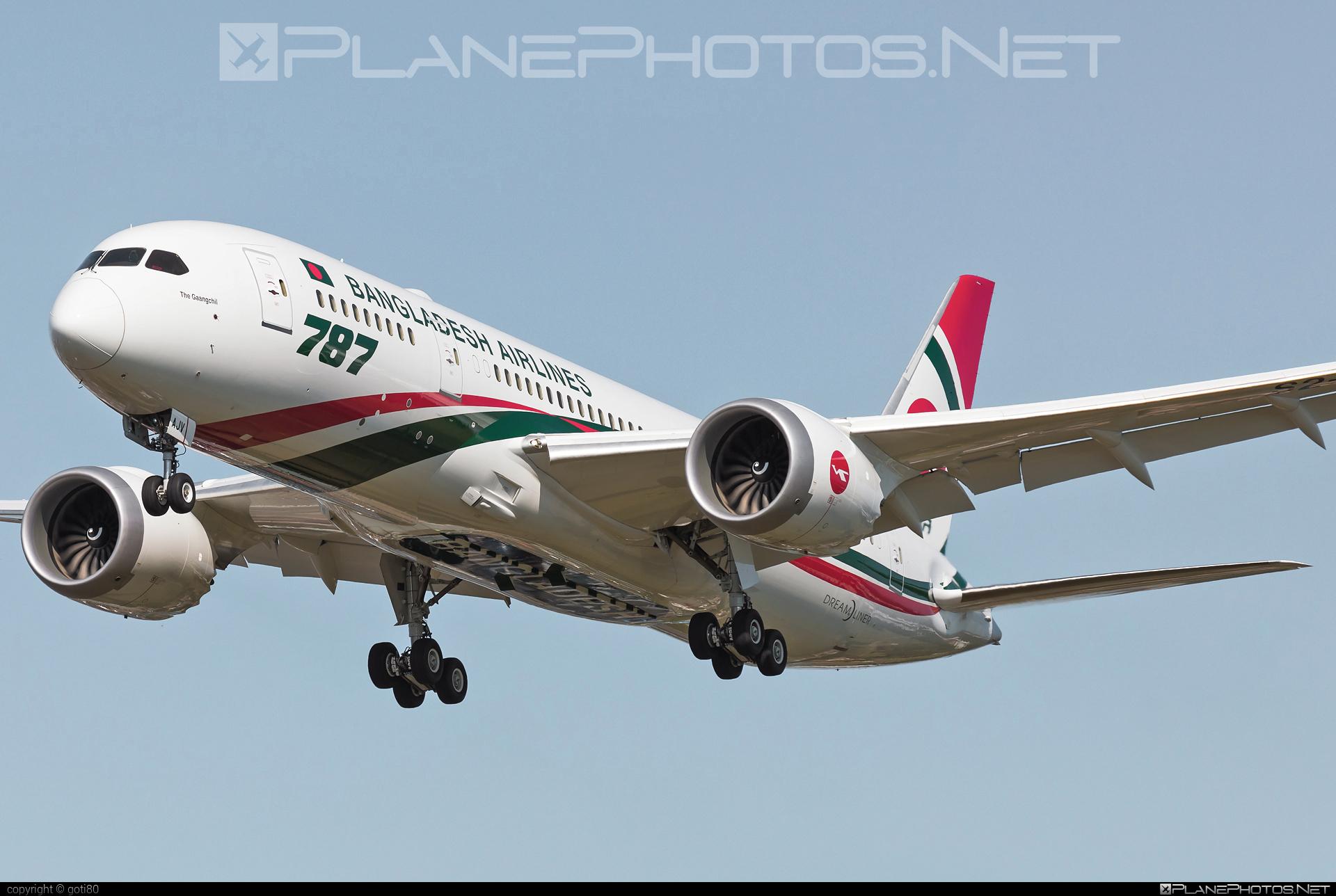 Boeing 787-8 Dreamliner - S2-AJV operated by Biman Bangladesh Airlines #b787 #boeing #boeing787 #dreamliner
