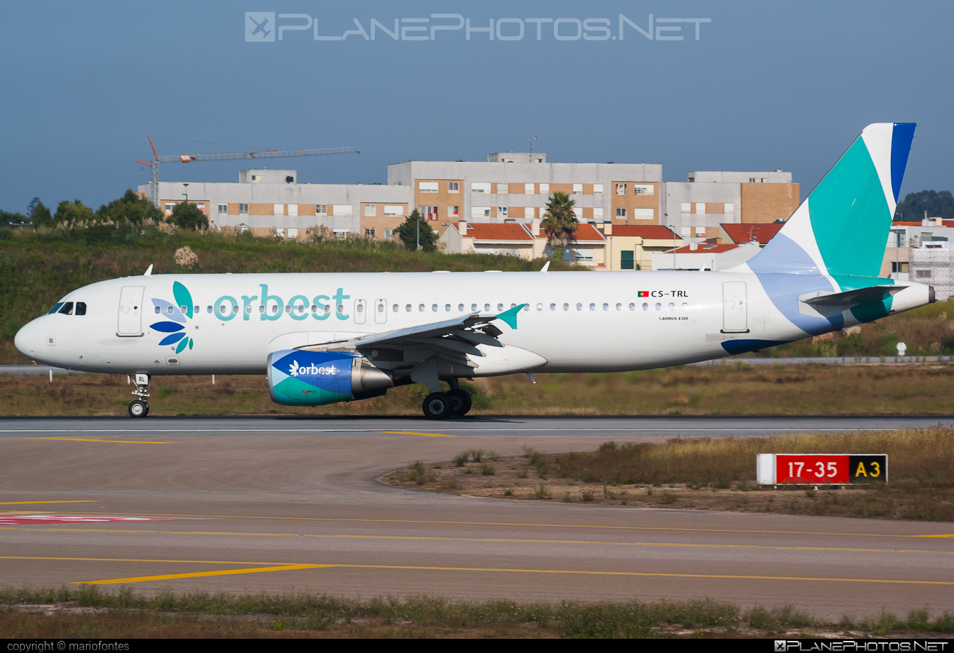 Airbus A320-214 - CS-TRL operated by Orbest #a320 #a320family #airbus #airbus320