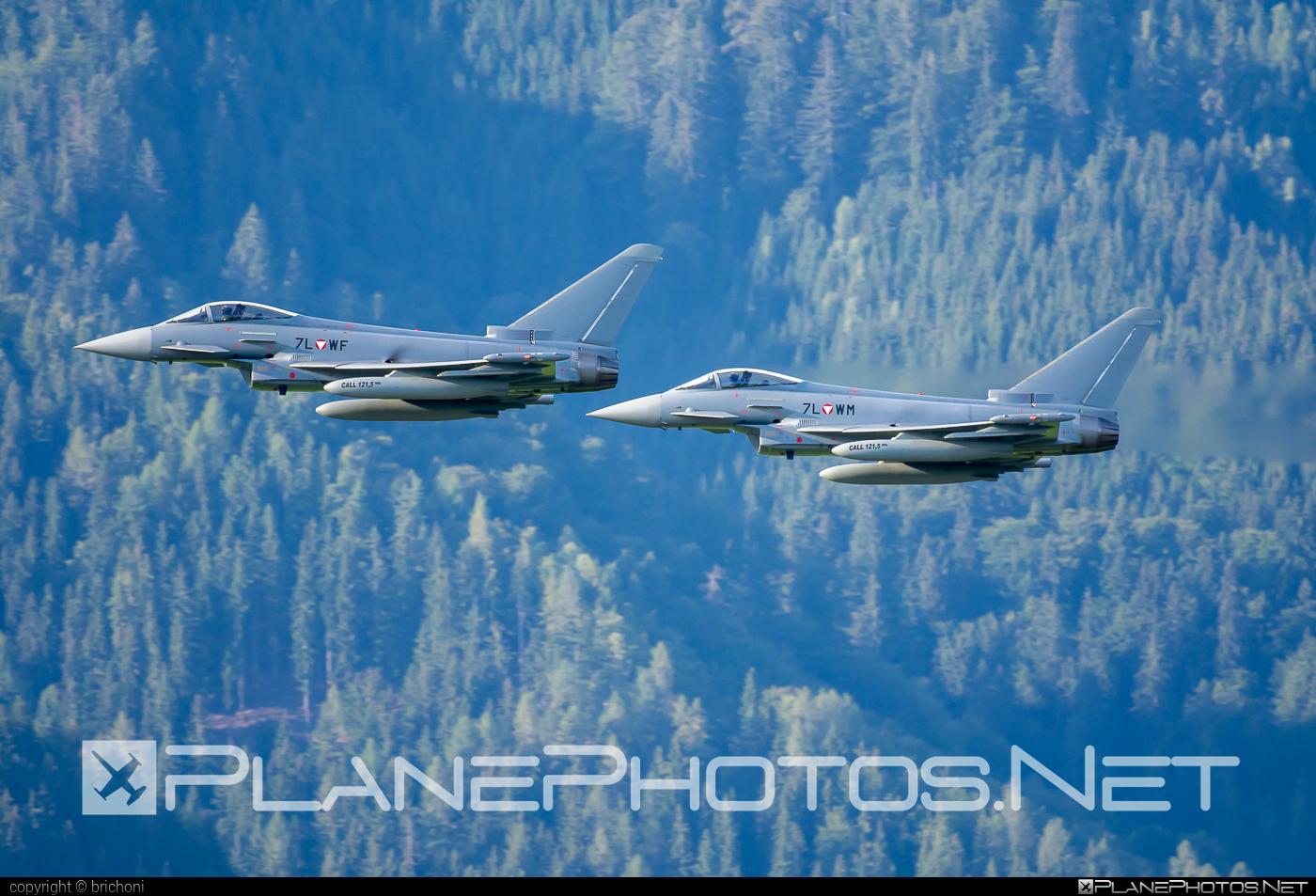 Eurofighter Typhoon S - 7L-WF operated by Österreichische Luftstreitkräfte (Austrian Air Force) #airpower2019 #austrianairforce #eurofighter #typhoon