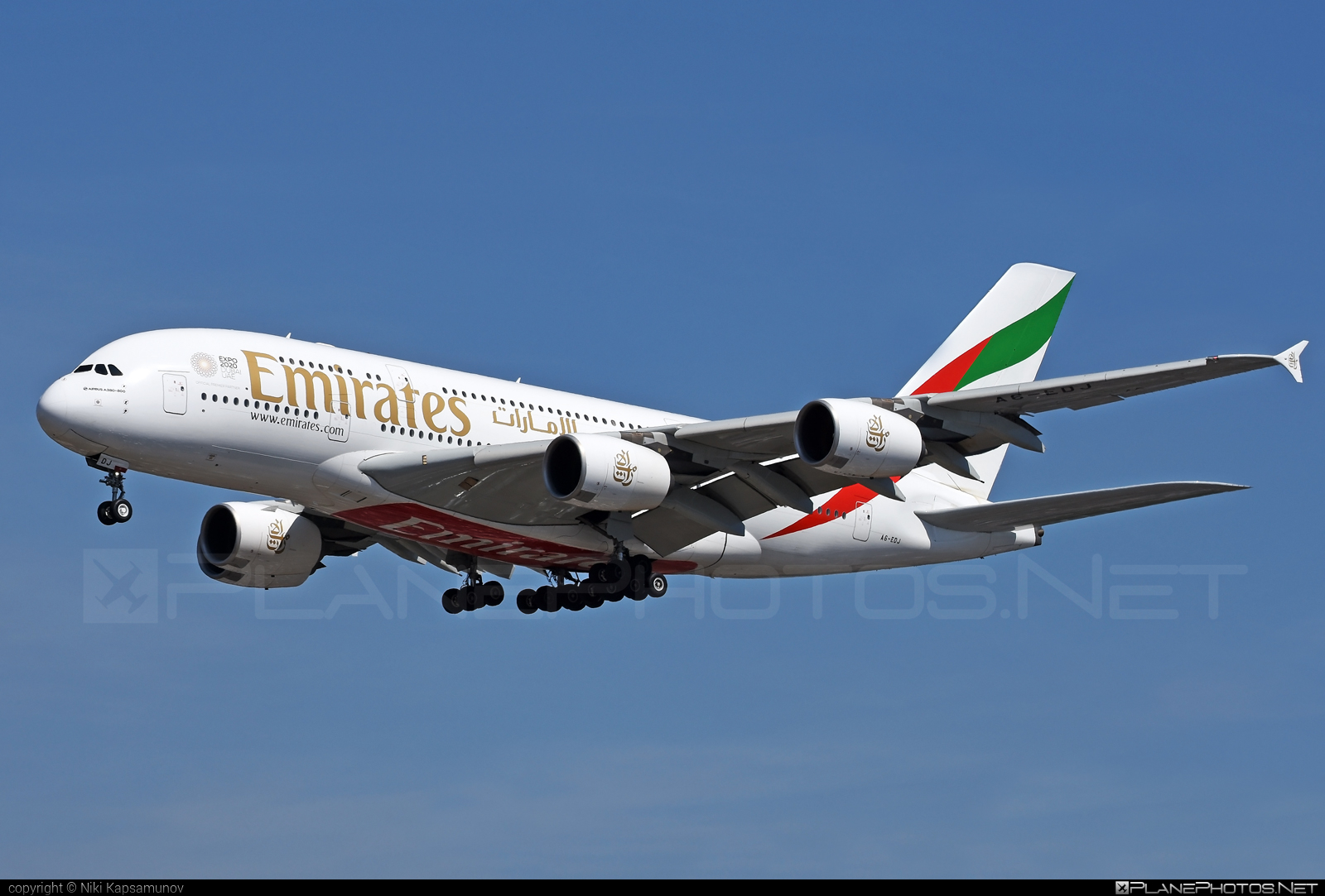 Airbus A380-861 - A6-EDJ operated by Emirates #a380 #a380family #airbus #airbus380 #emirates