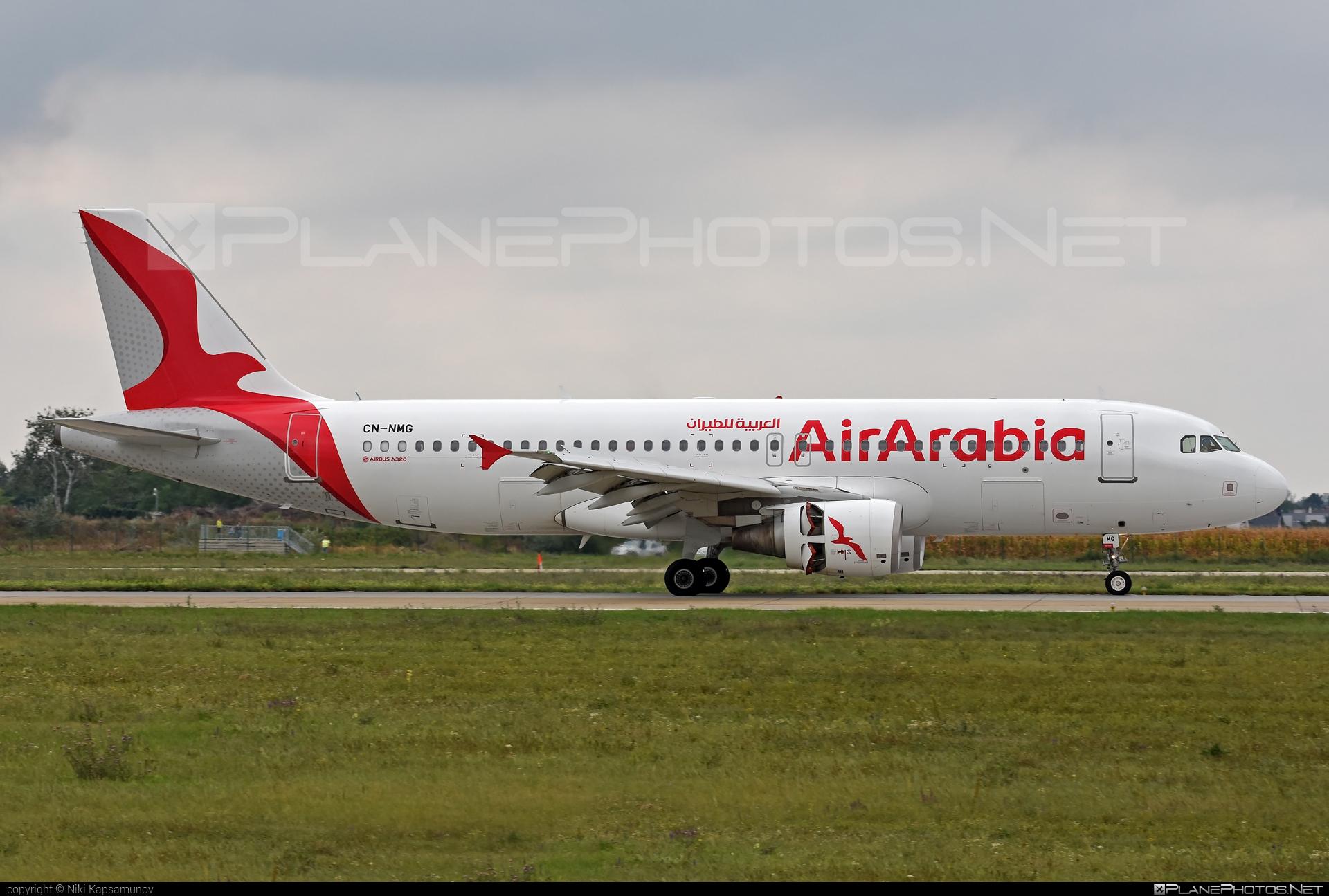 Airbus A320-214 - CN-NMG operated by Air Arabia Maroc #a320 #a320family #airarabia #airarabiamaroc #airbus #airbus320