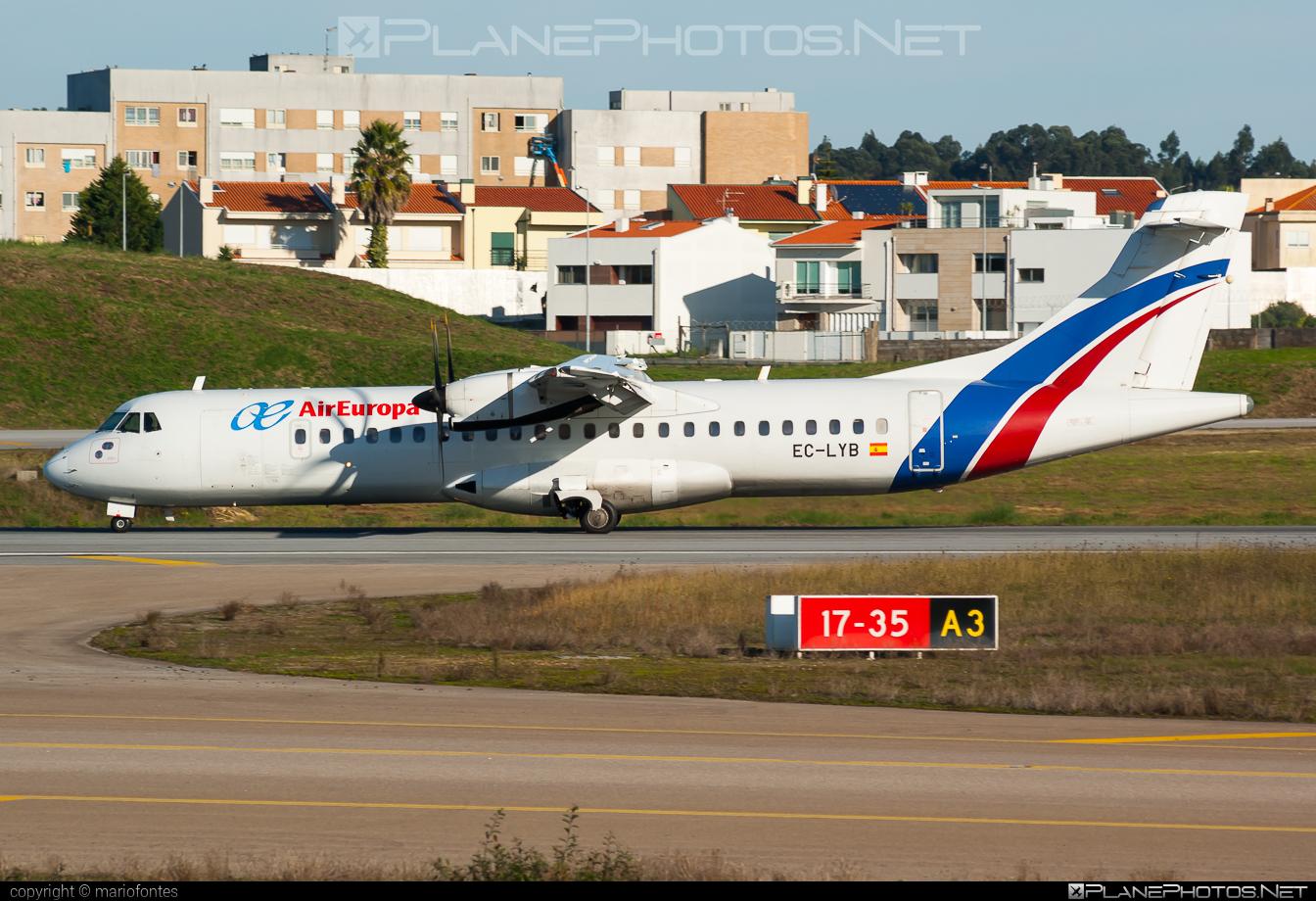 ATR 72-212A - EC-LYB operated by Air Europa Express #atr