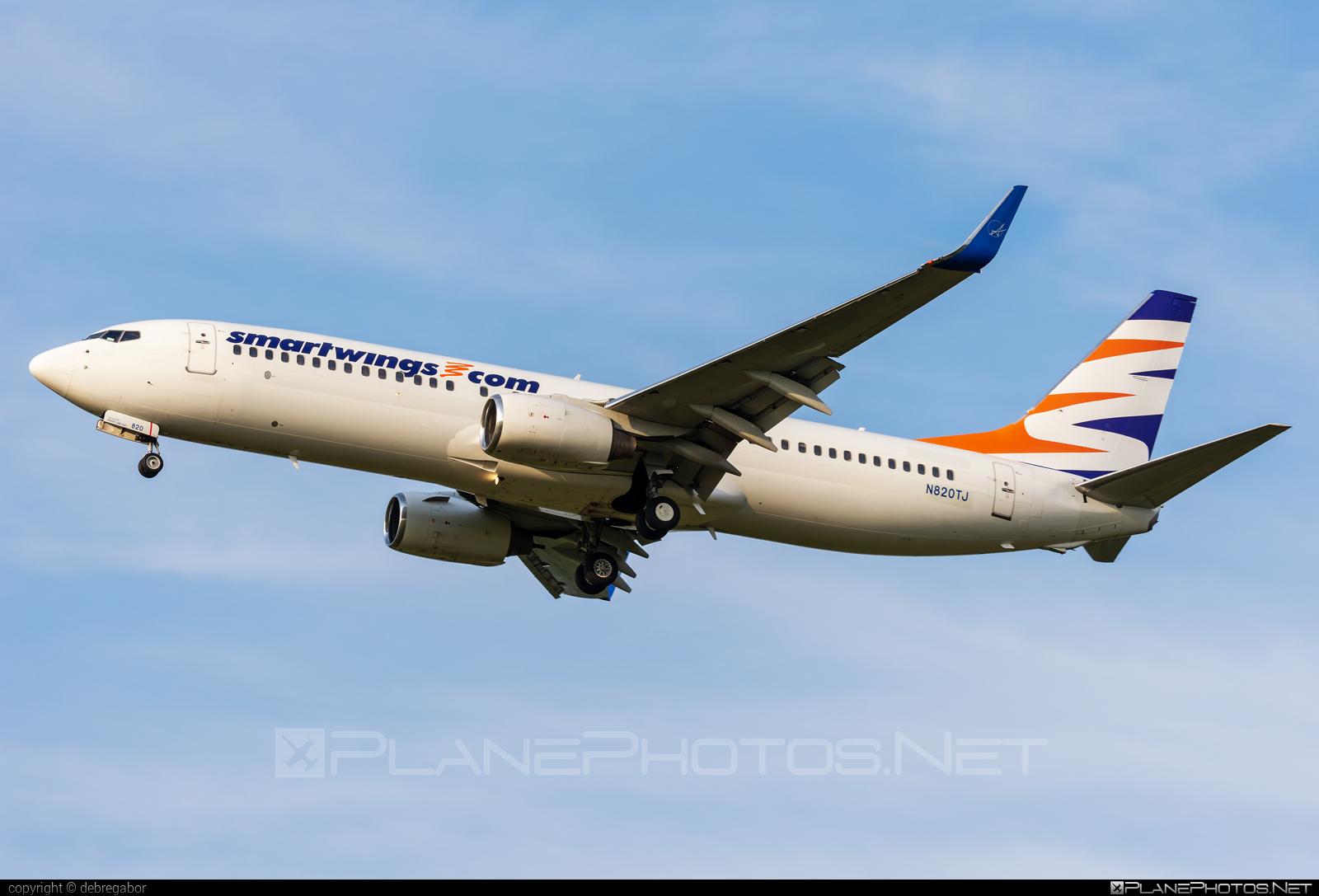 Boeing 737-800 - N820TJ operated by Smart Wings #b737 #b737nextgen #b737ng #boeing #boeing737 #smartwings