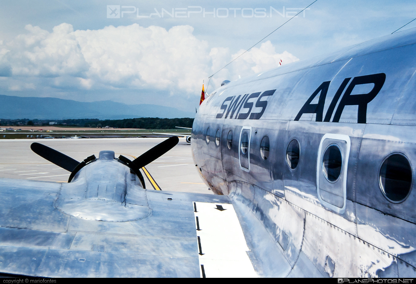 Douglas DC-4-1009 - ZU-ILI operated by Swissair #dc4 #dc41009 #douglas #douglasdc4 #swissair