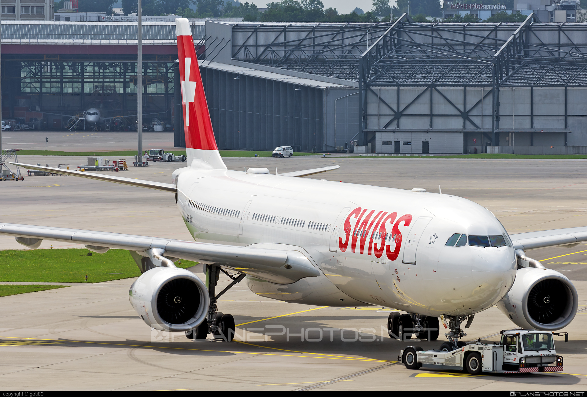 Airbus A330-343 - HB-JHC operated by Swiss International Air Lines #a330 #a330family #airbus #airbus330 #swiss #swissairlines