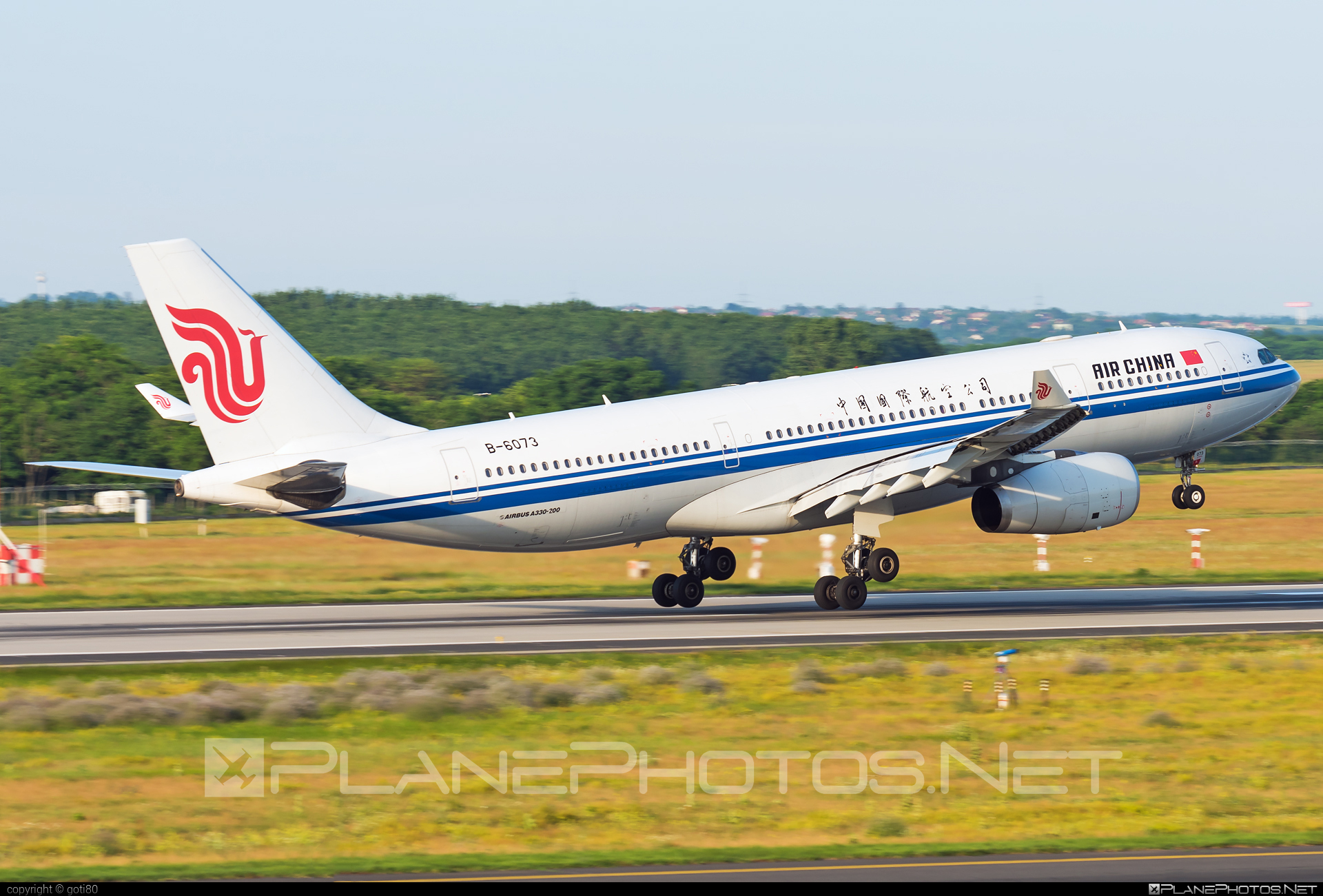 Airbus A330-243 - B-6073 operated by Air China #a330 #a330family #airbus #airbus330 #airchina