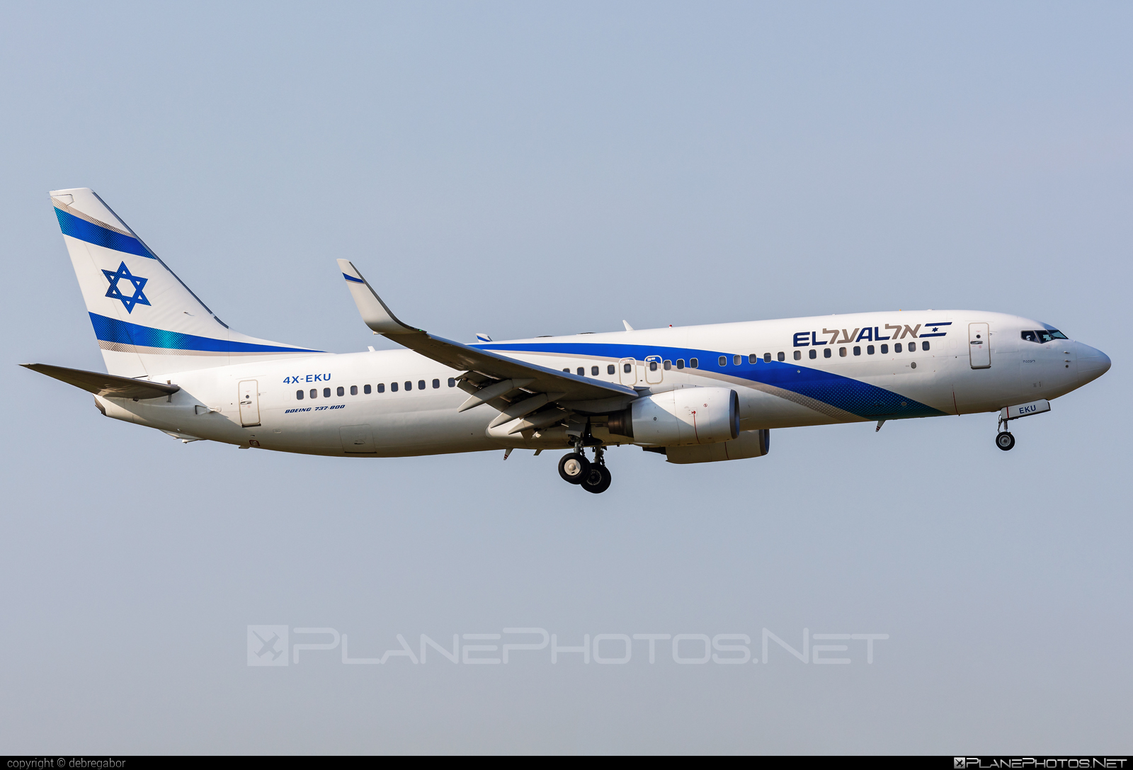 Boeing 737-800 - 4X-EKU operated by El Al Israel Airlines #b737 #b737nextgen #b737ng #boeing #boeing737 #elal #elalisraelairlines #israelairlines