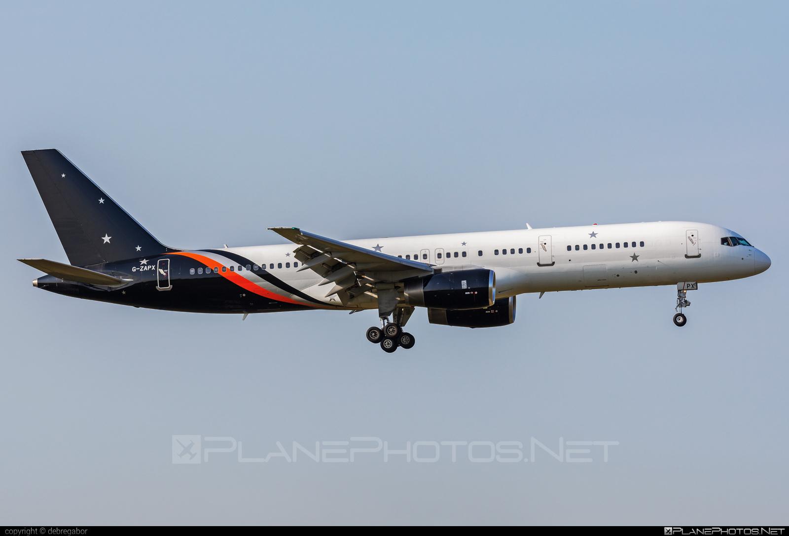 Boeing 757-200 - G-ZAPX operated by Titan Airways #b757 #boeing #boeing757 #titanairways