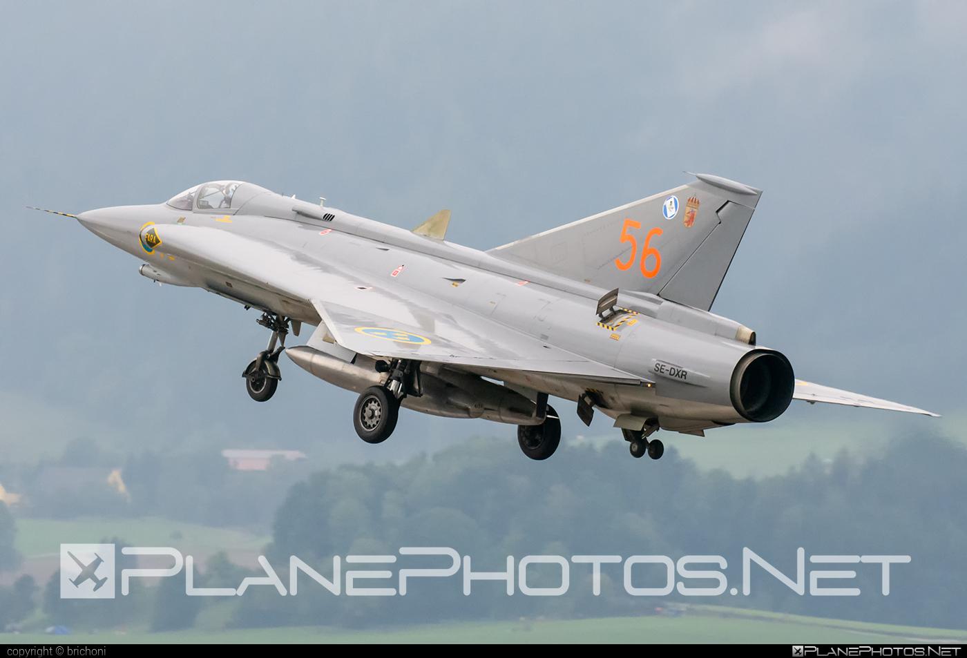 Saab J 35J Draken - SE-DXR operated by Swedish Air Force Historic Flight #airpower2019 #draken #j35jdraken #saab #saab35 #saabdraken #saabj35draken #saabj35j #saabj35jdraken