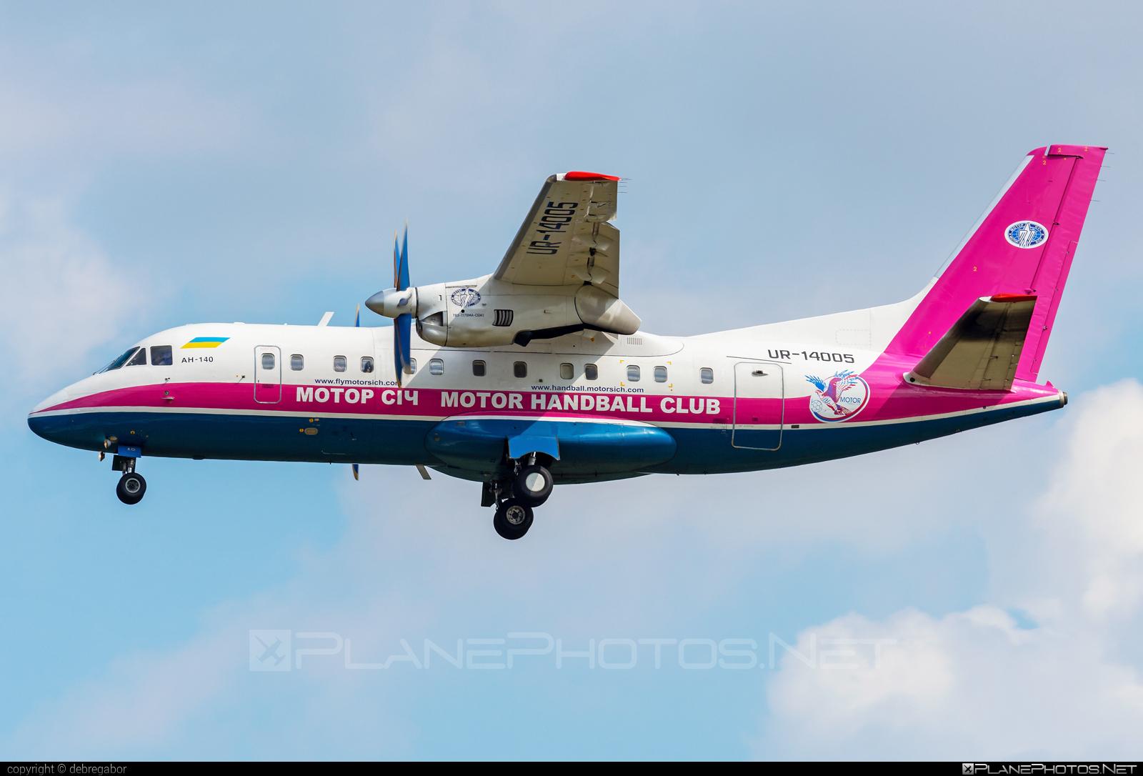 Antonov An-140-100 - UR-14005 operated by Motor Sich Airline #an140 #an140100 #antonov #antonov140